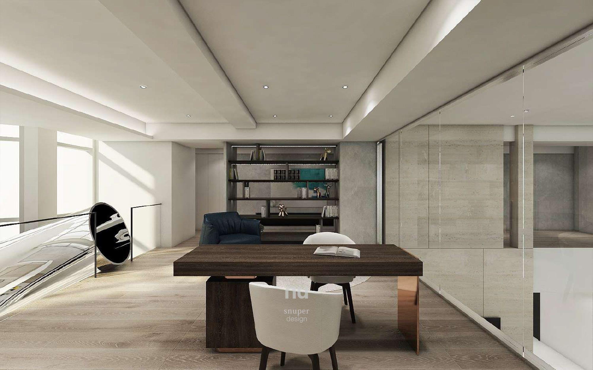 豪宅設計-大坪數-書房