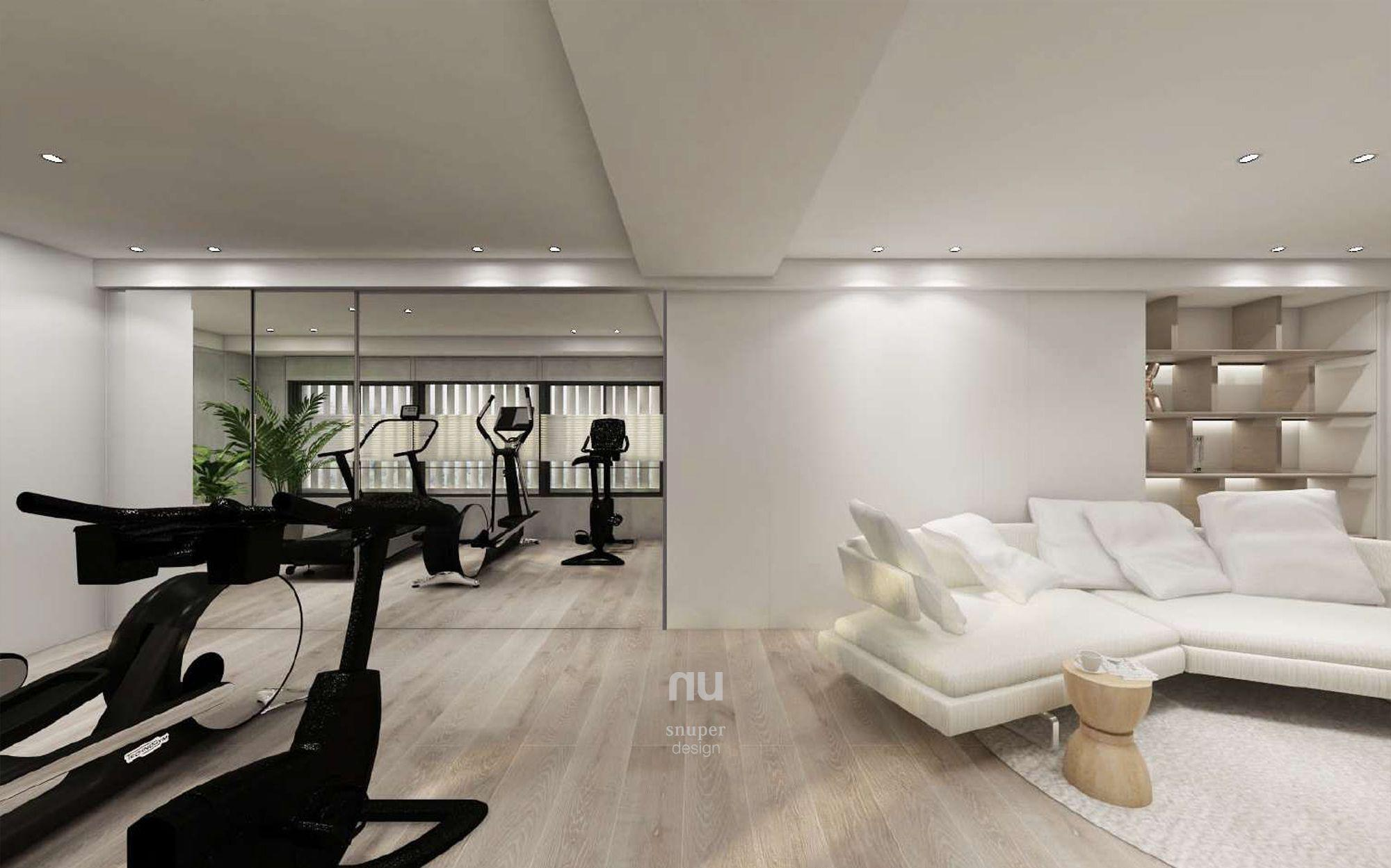 豪宅設計-大坪數-健身房
