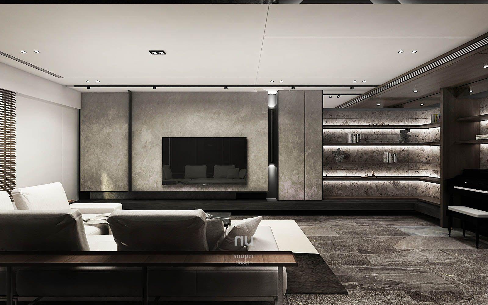 大雄設計-豪宅設計-客廳