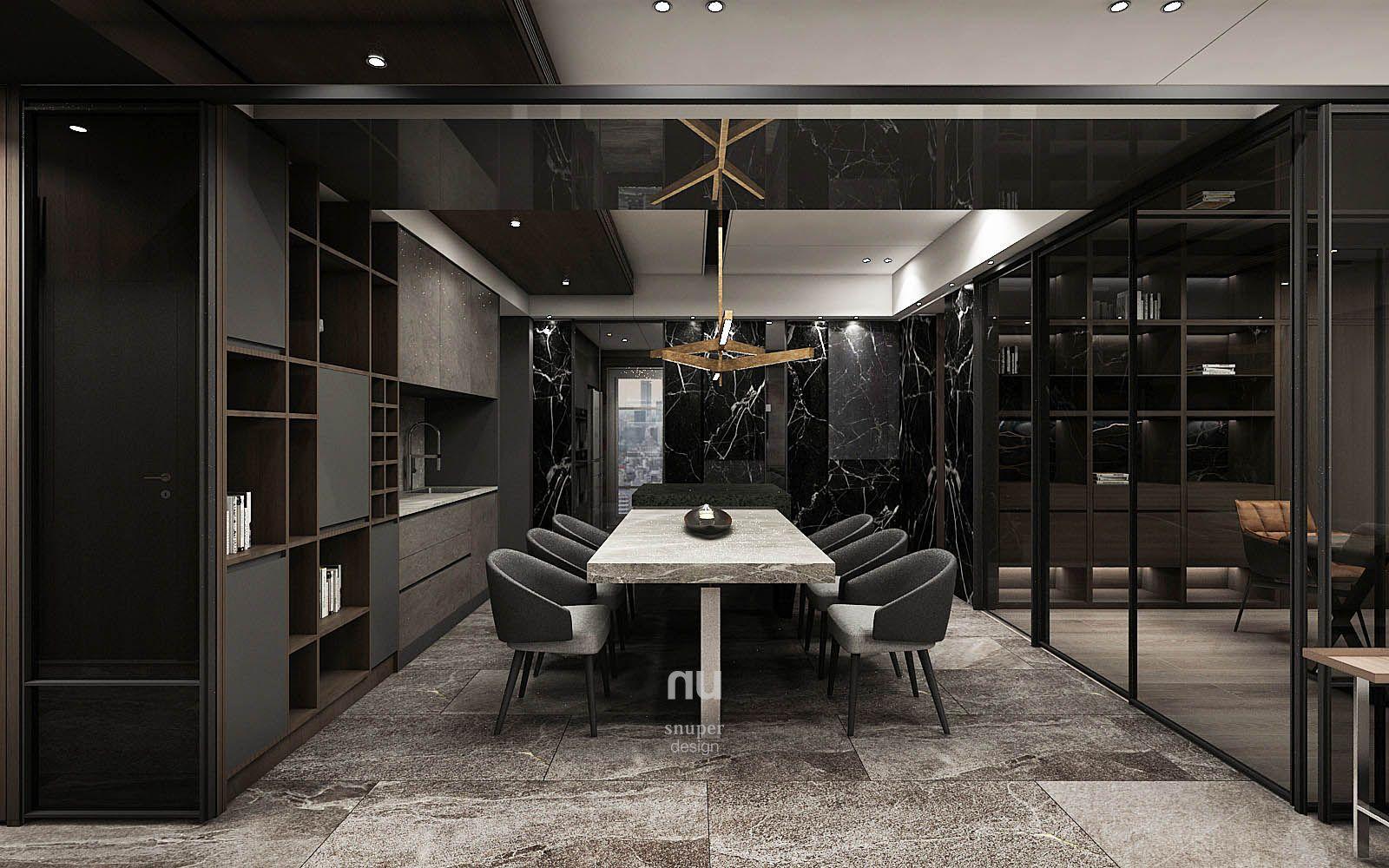 大雄設計-豪宅設計-餐廳