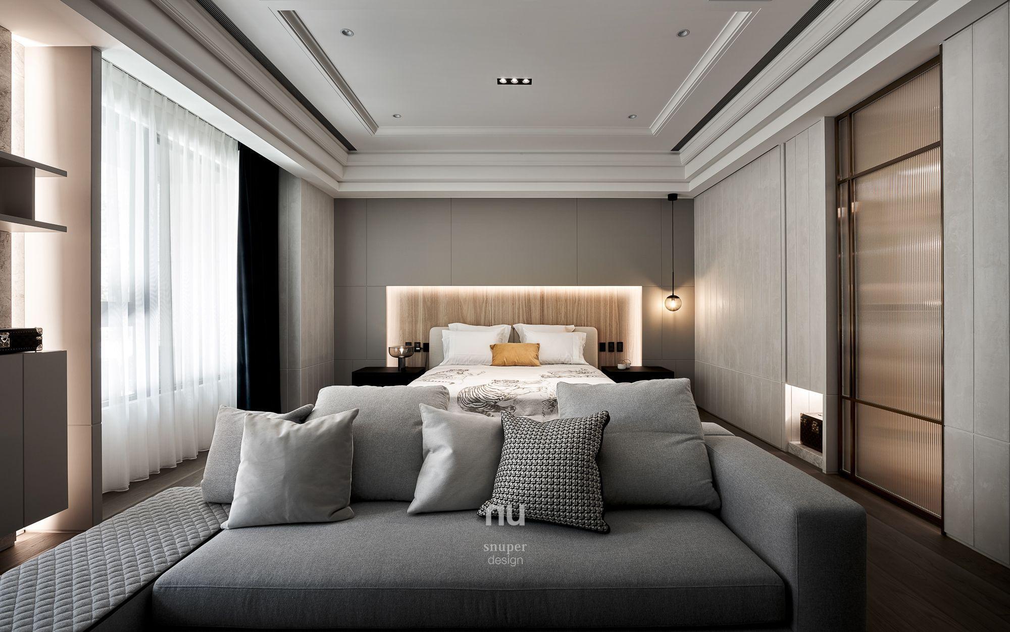 豪宅設計-都會靈感-主臥室