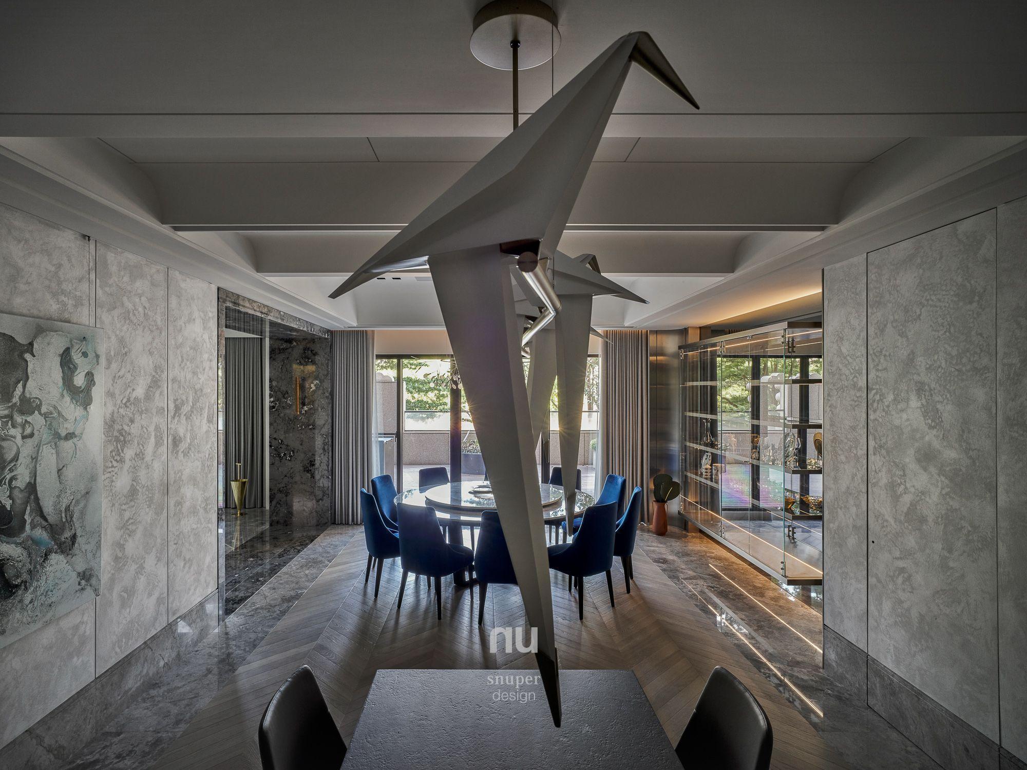 豪宅設計-都會靈感-餐廳