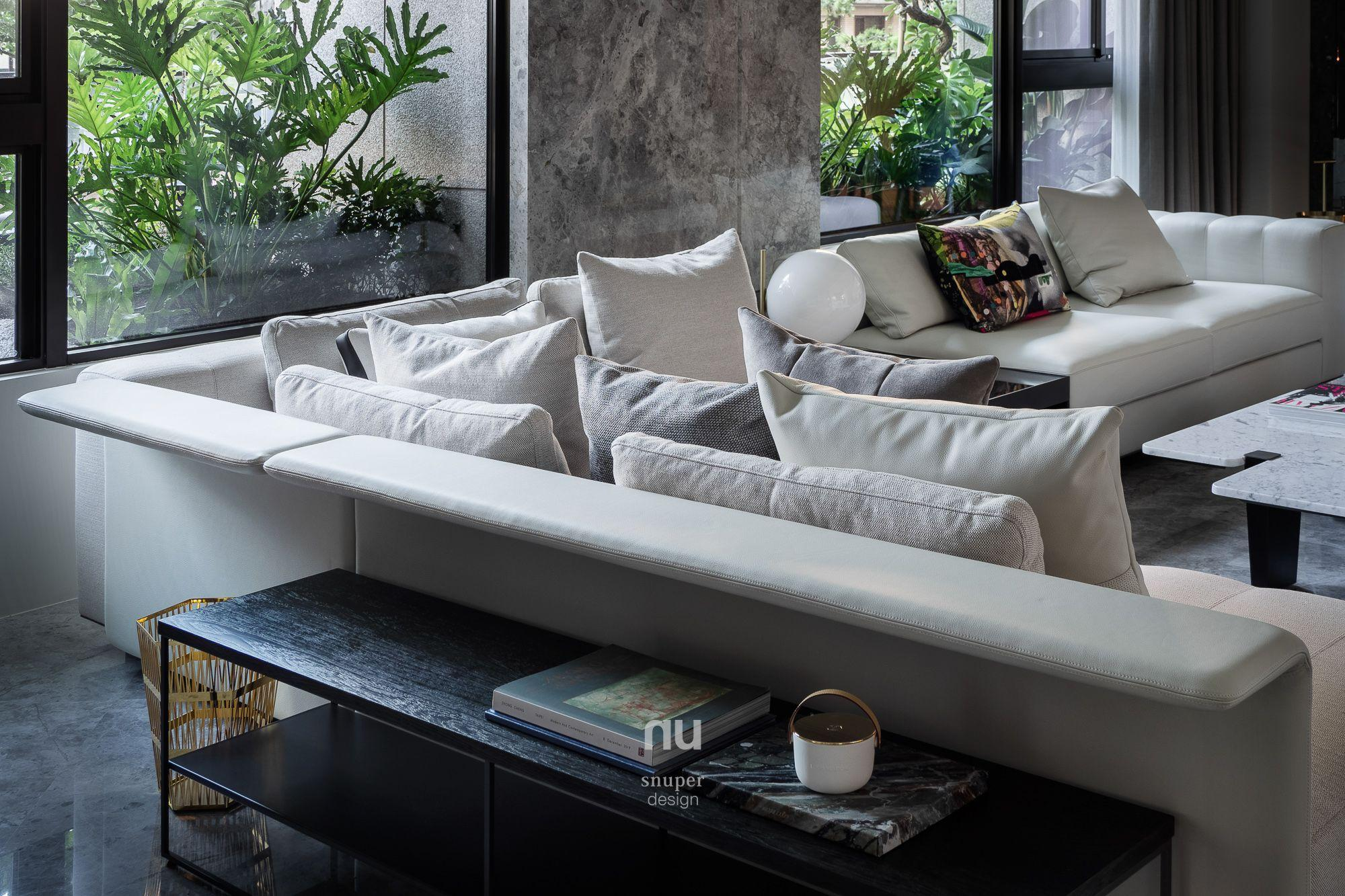 豪宅設計-都會靈感-客廳