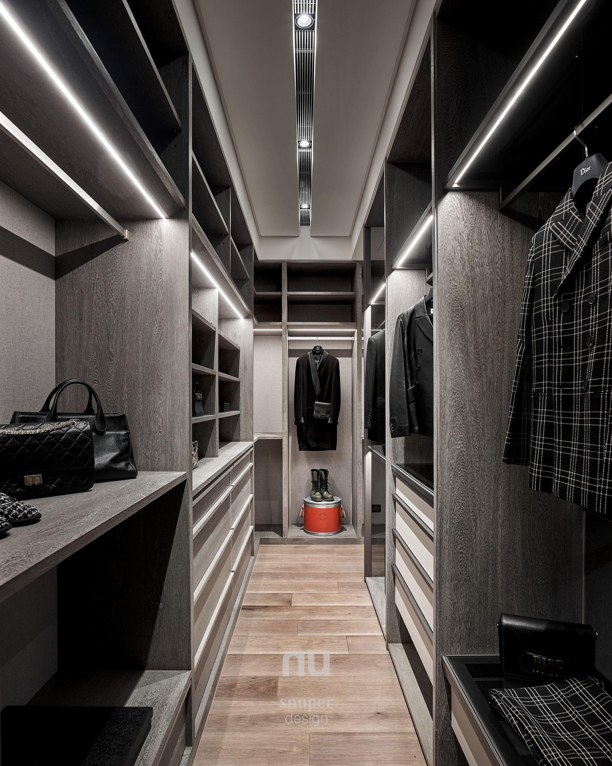 豪宅設計-都會靈感-更衣室
