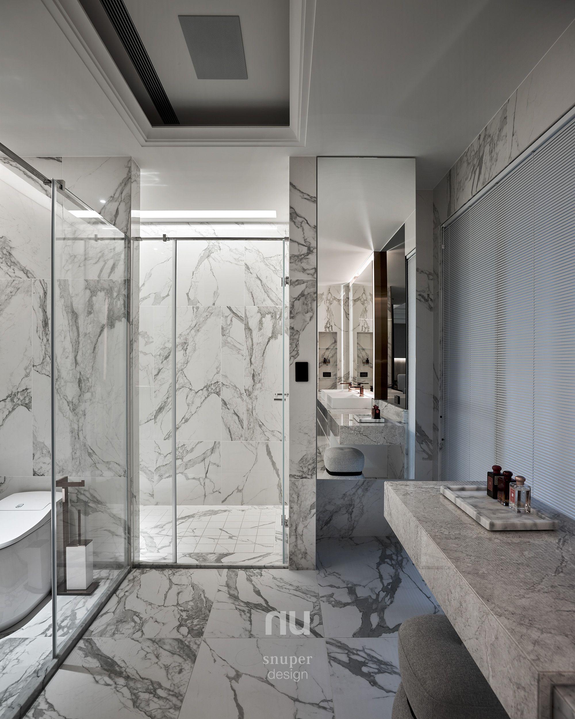 豪宅設計-都會靈感-主浴室