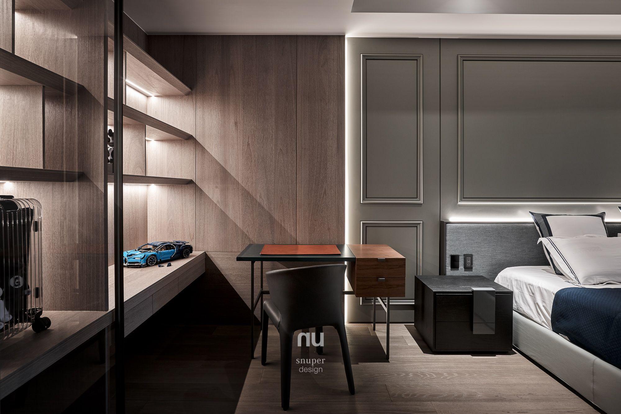 豪宅設計-都會靈感-臥室