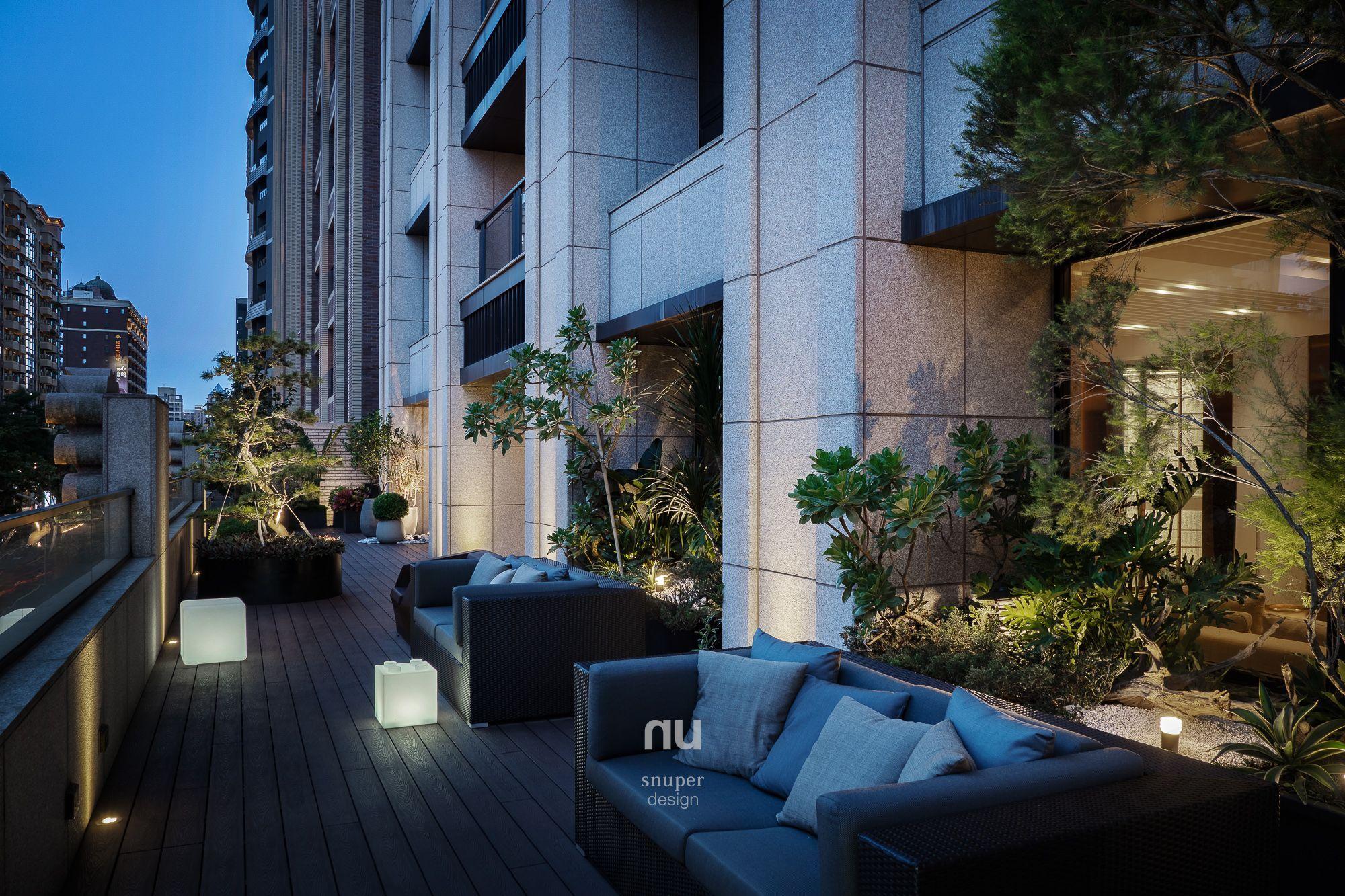 豪宅設計-都會靈感-戶外花園