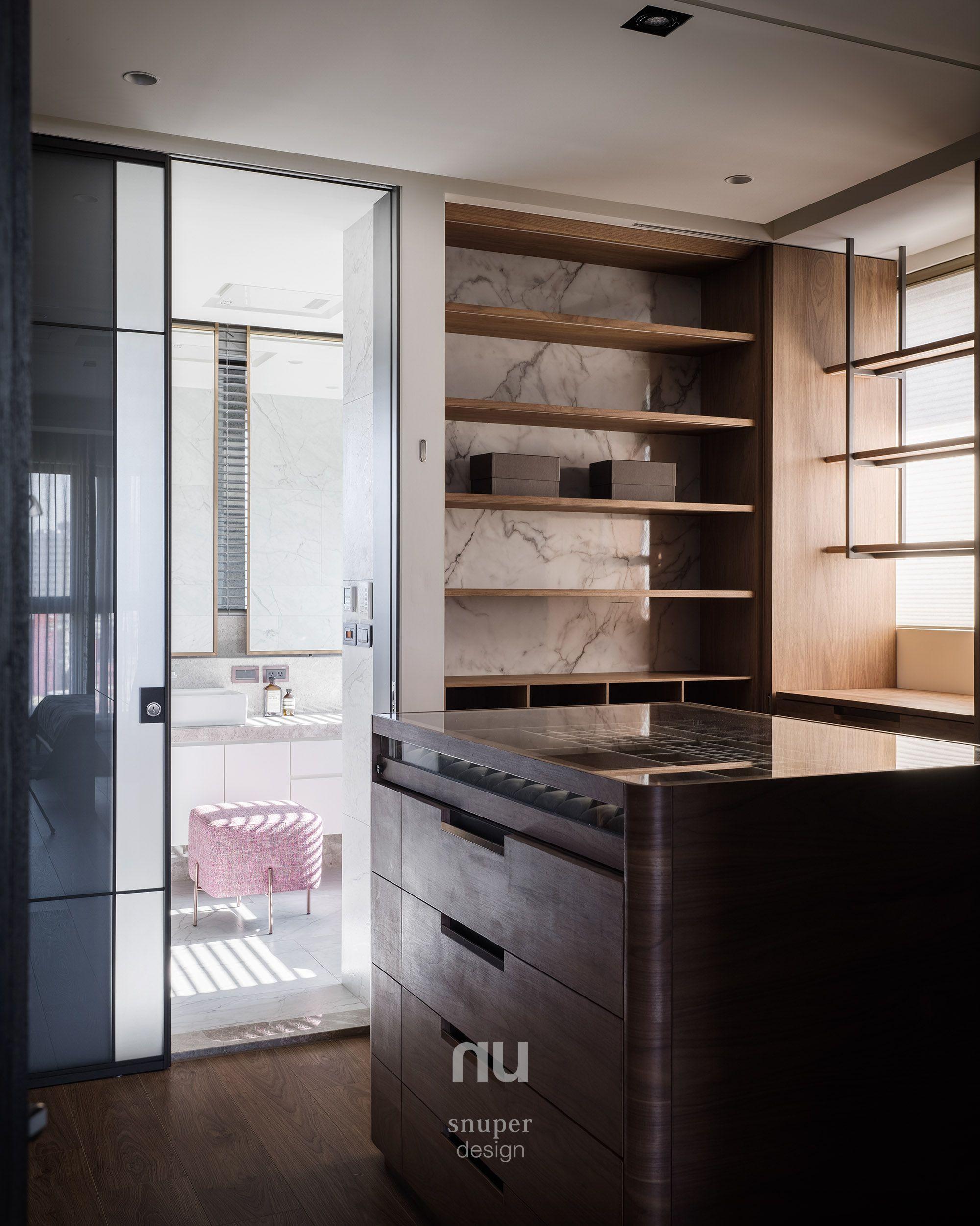 豪宅設計-更衣室