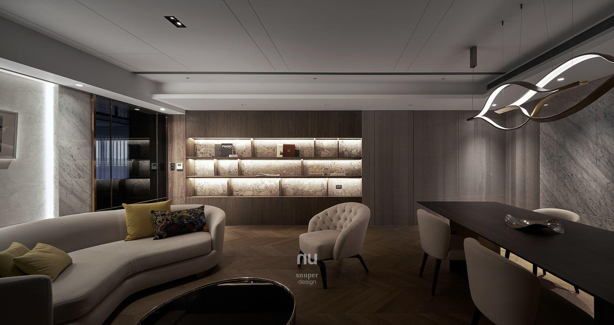 豪宅設計-大坪數-起居室