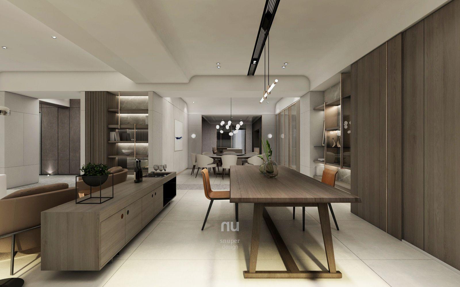 台中豪宅設計-客廳