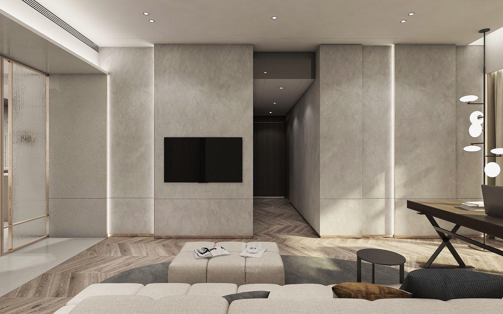 台中豪宅設計-起居室