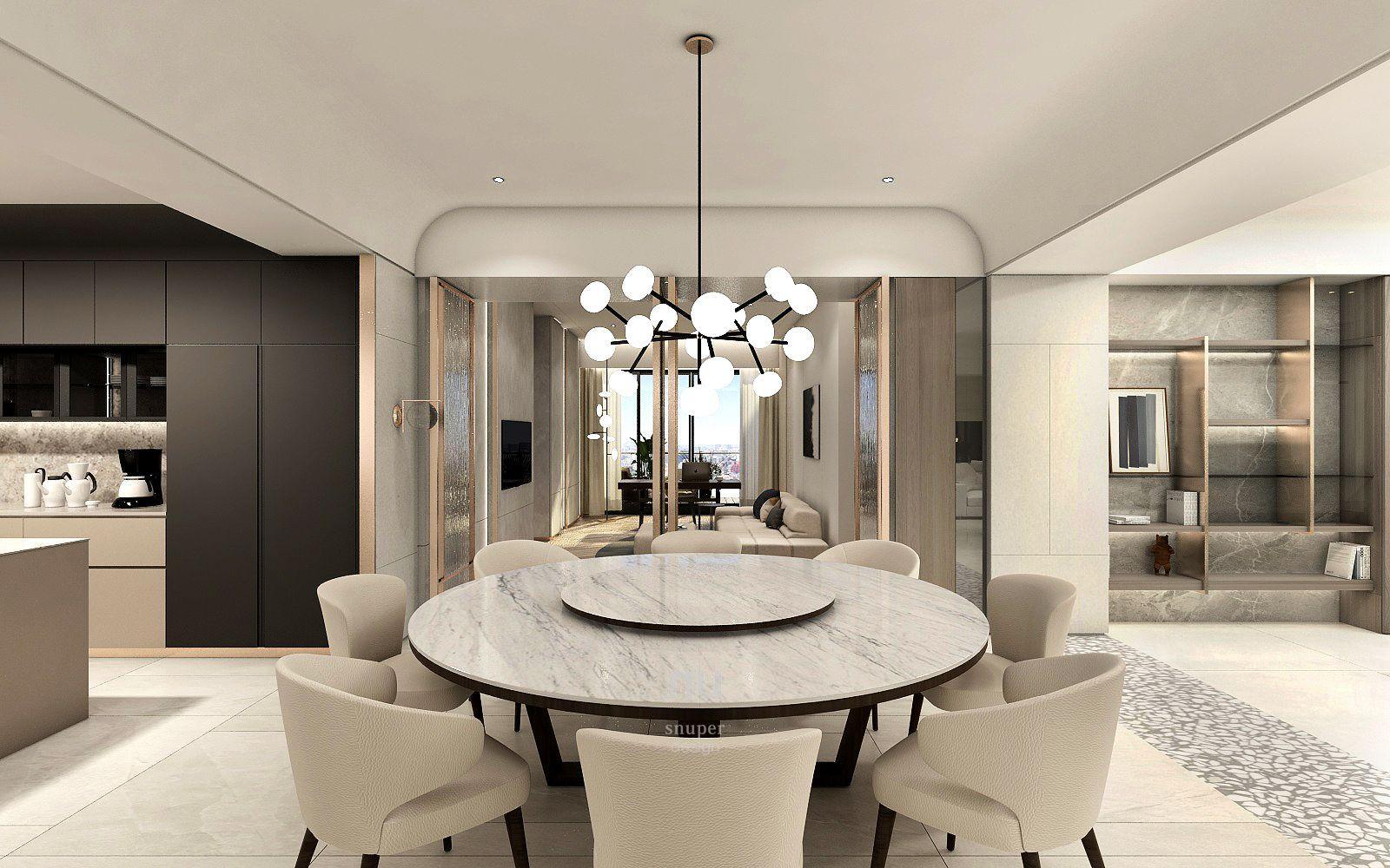 台中豪宅設計-餐廳