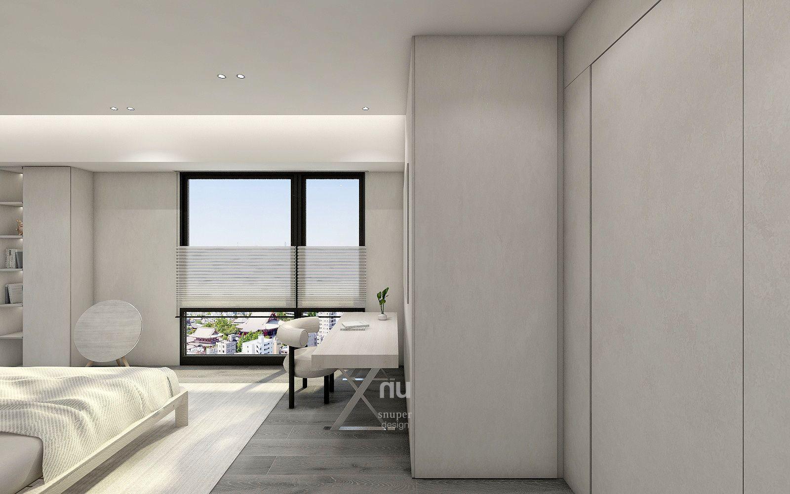台中豪宅設計-臥室