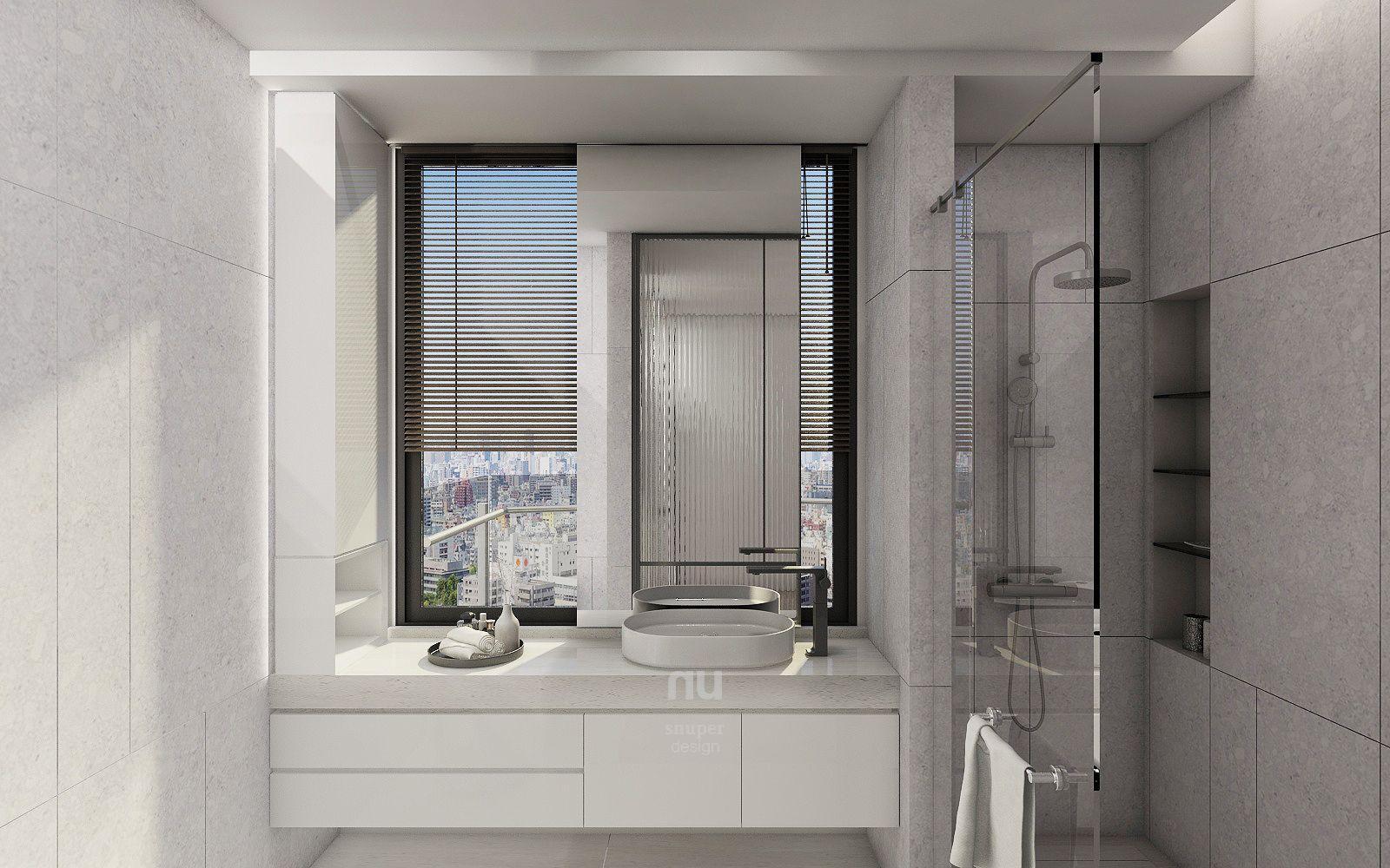 台中豪宅設計-浴室