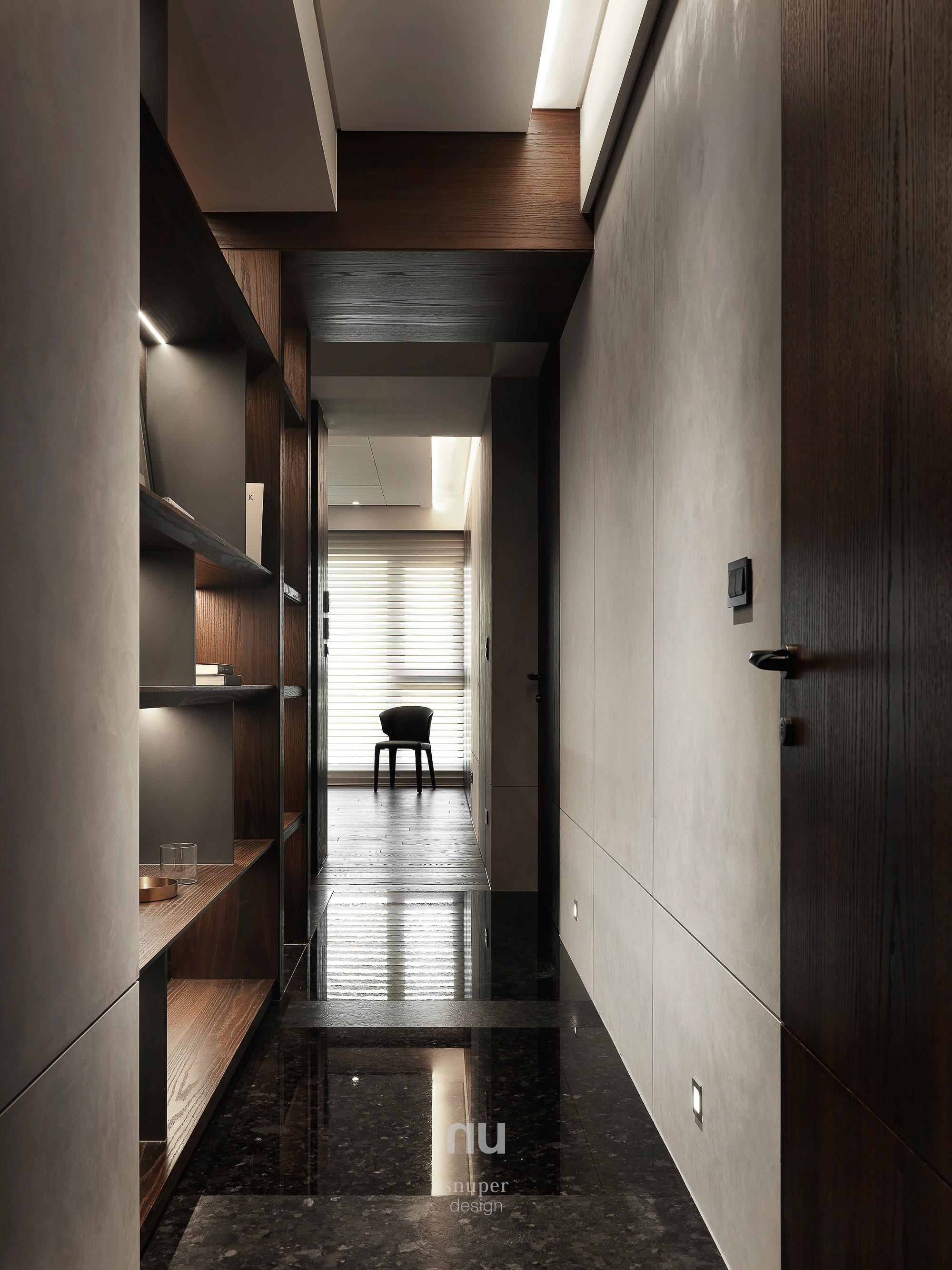 豪宅設計-中悅人文-廊道