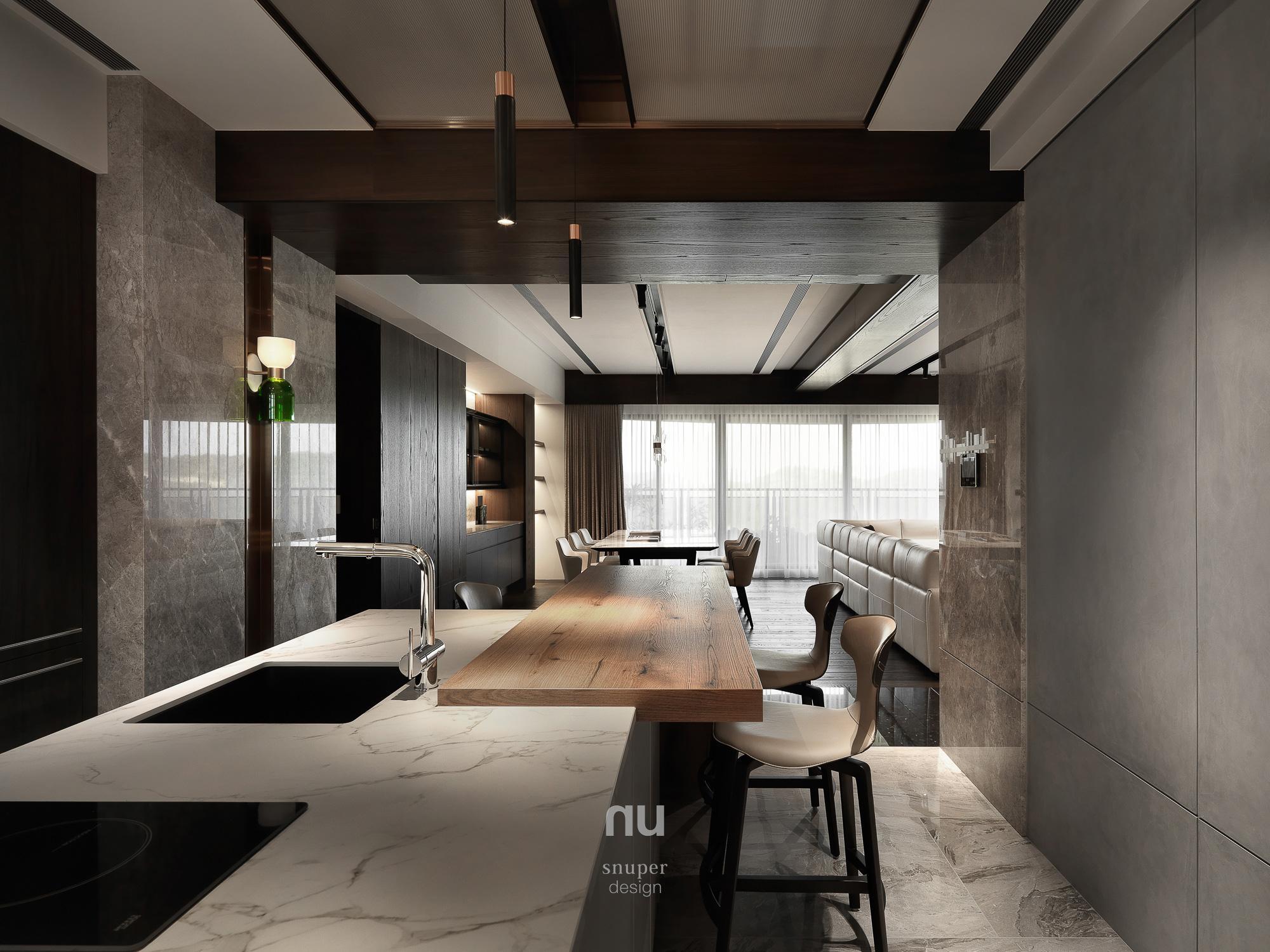 豪宅設計-中悅人文-廚房