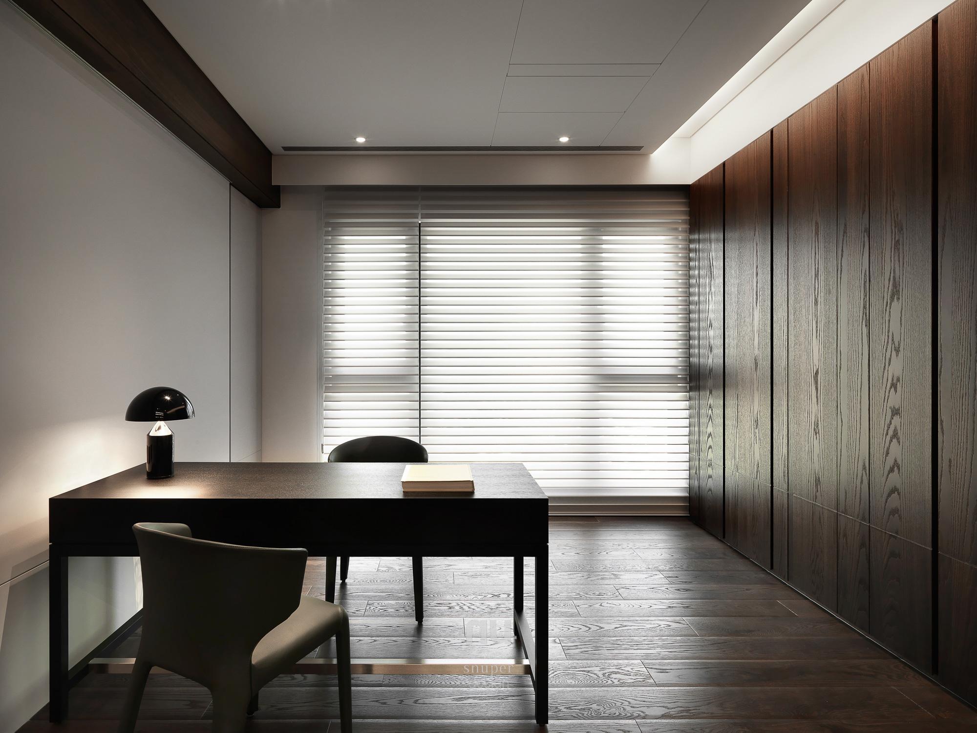 豪宅設計-中悅人文-書房