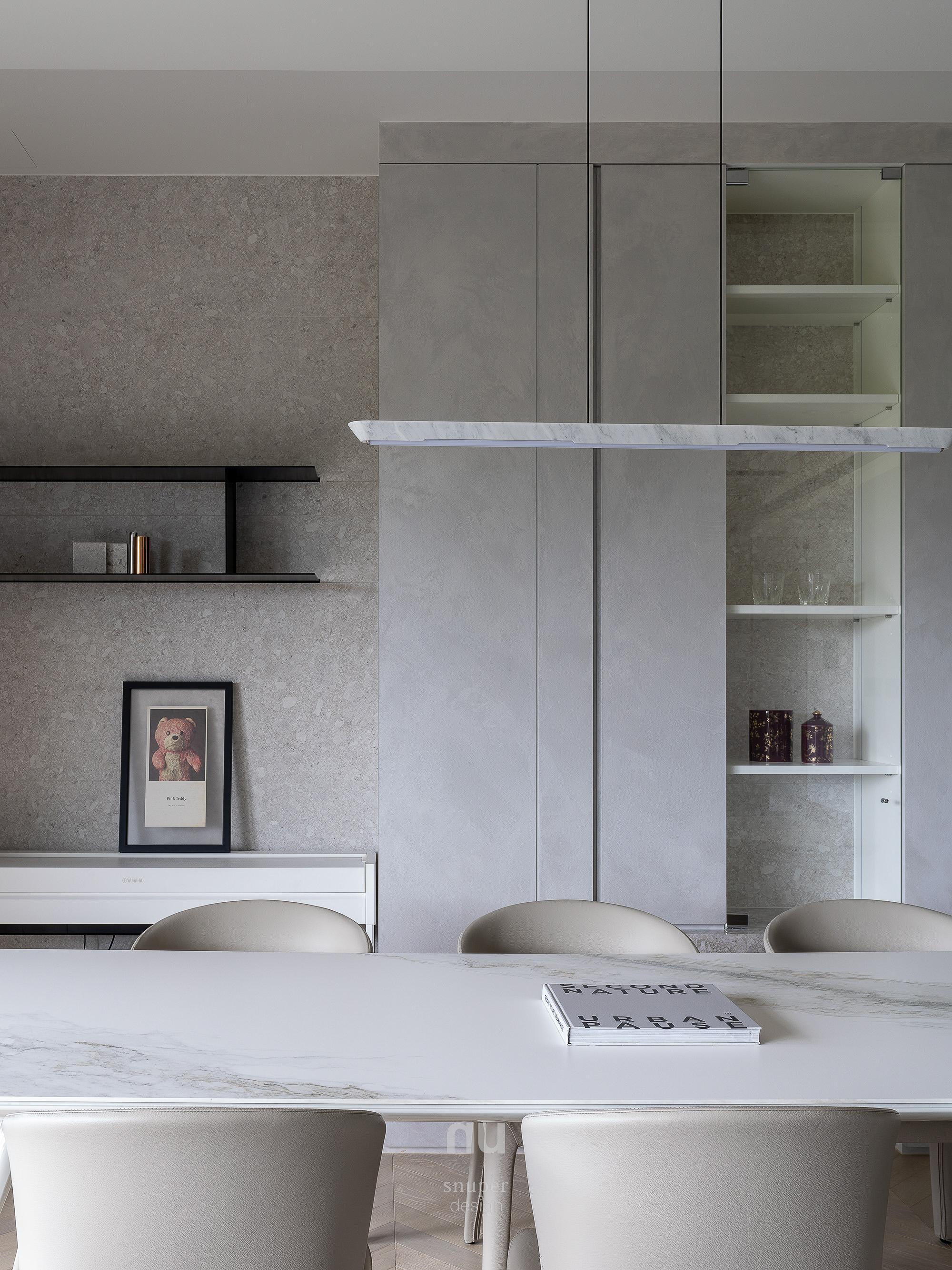 豪宅設計-逸居-餐廳