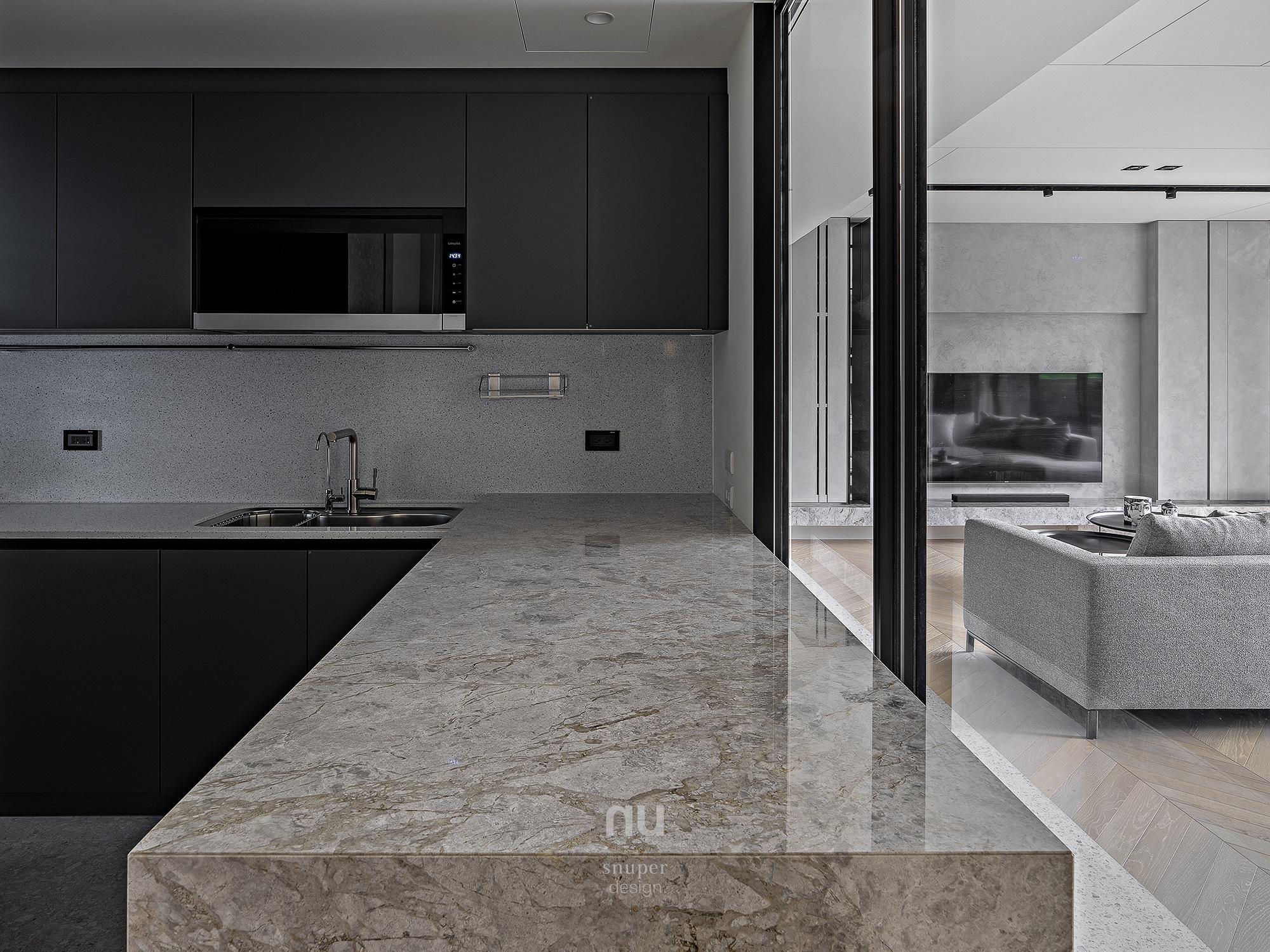豪宅設計-逸居-廚房