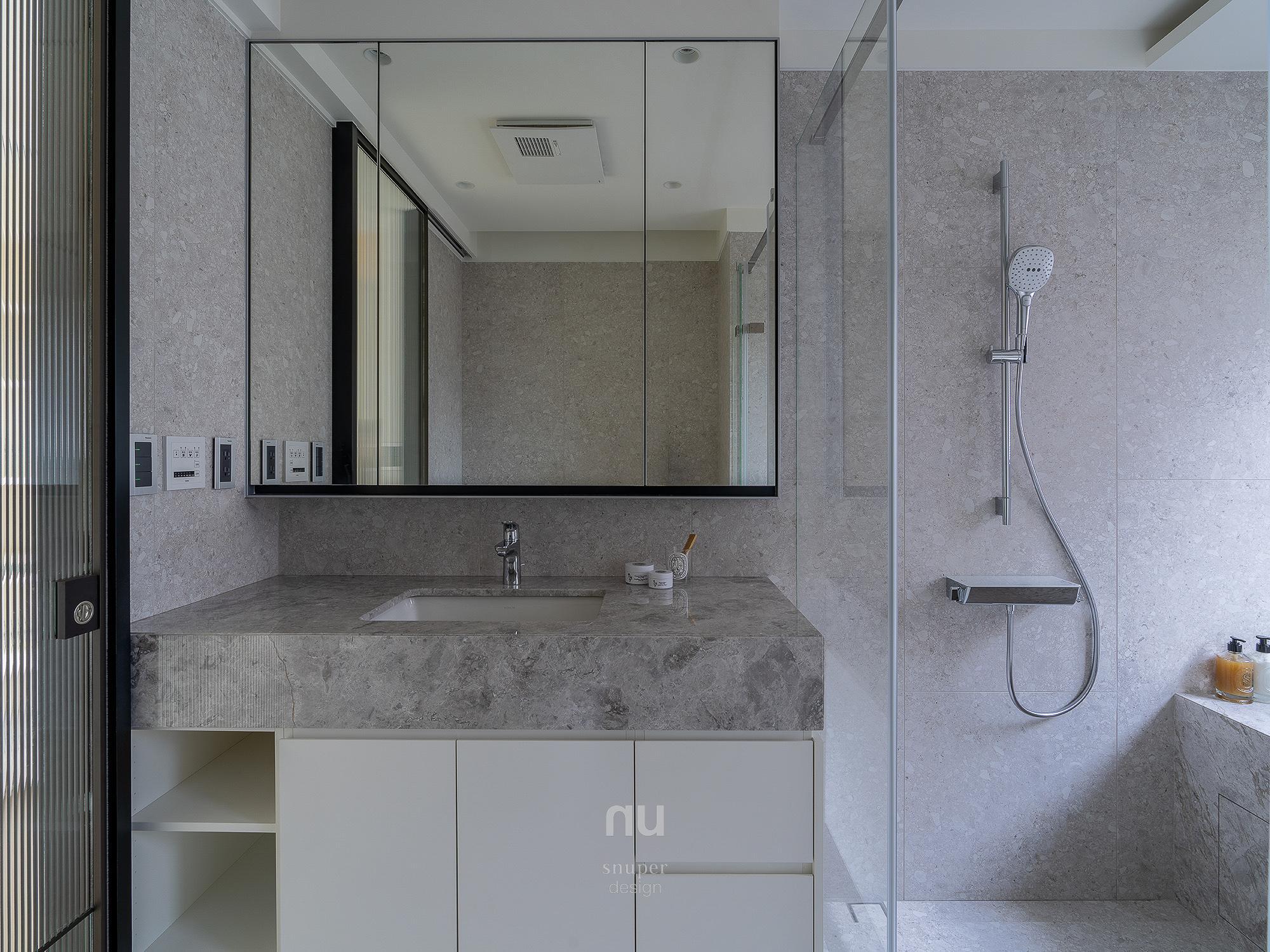 豪宅設計-逸居-主衛浴