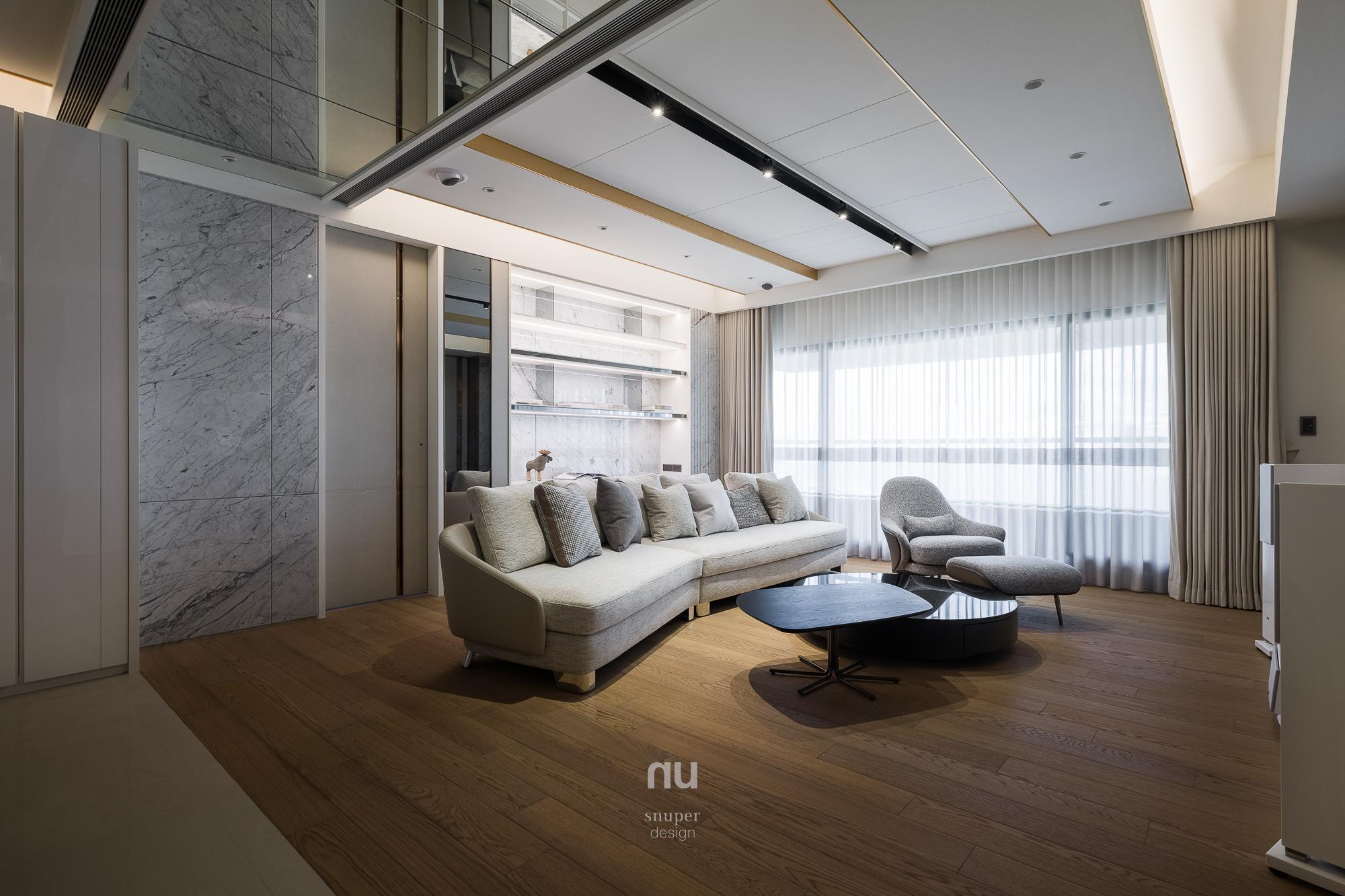 豪宅設計-城市居旅-客廳