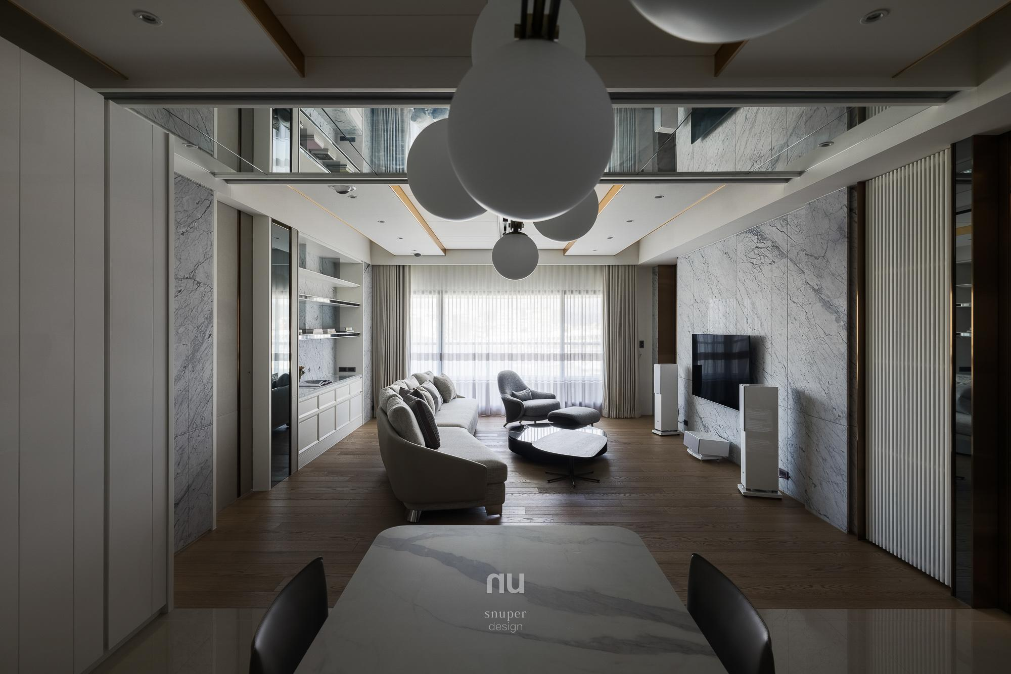 豪宅設計-城市居旅-客餐廳