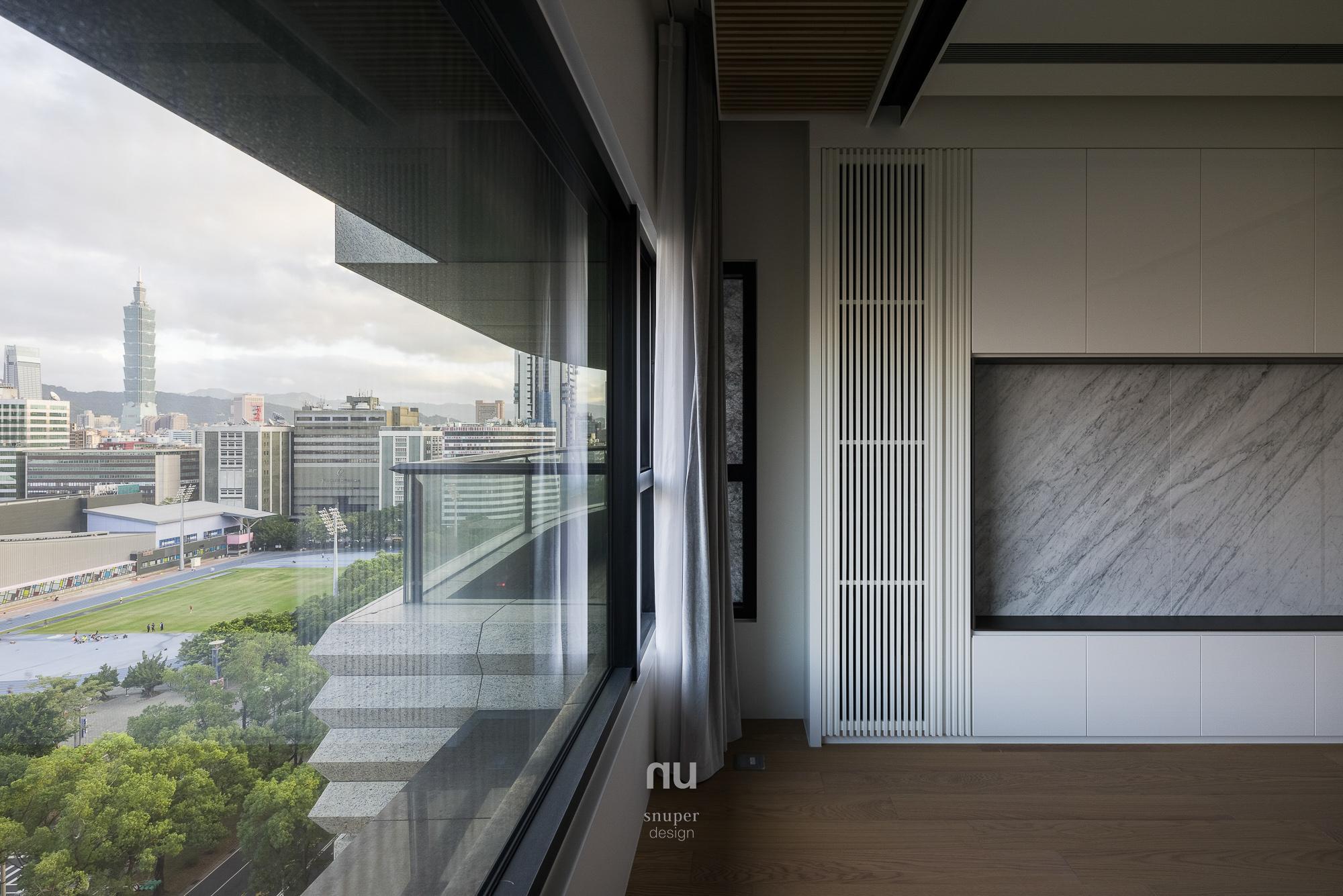 豪宅設計-城市居旅-主臥