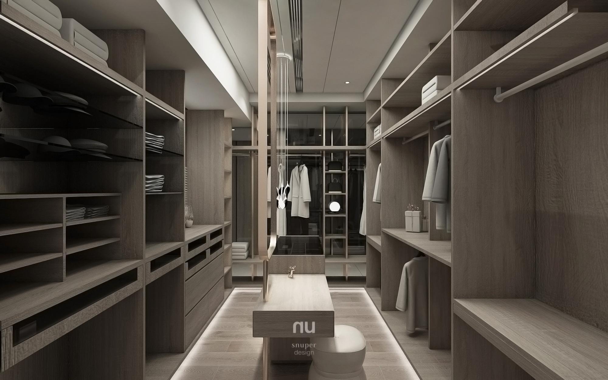 豪宅設計- 女更衣室