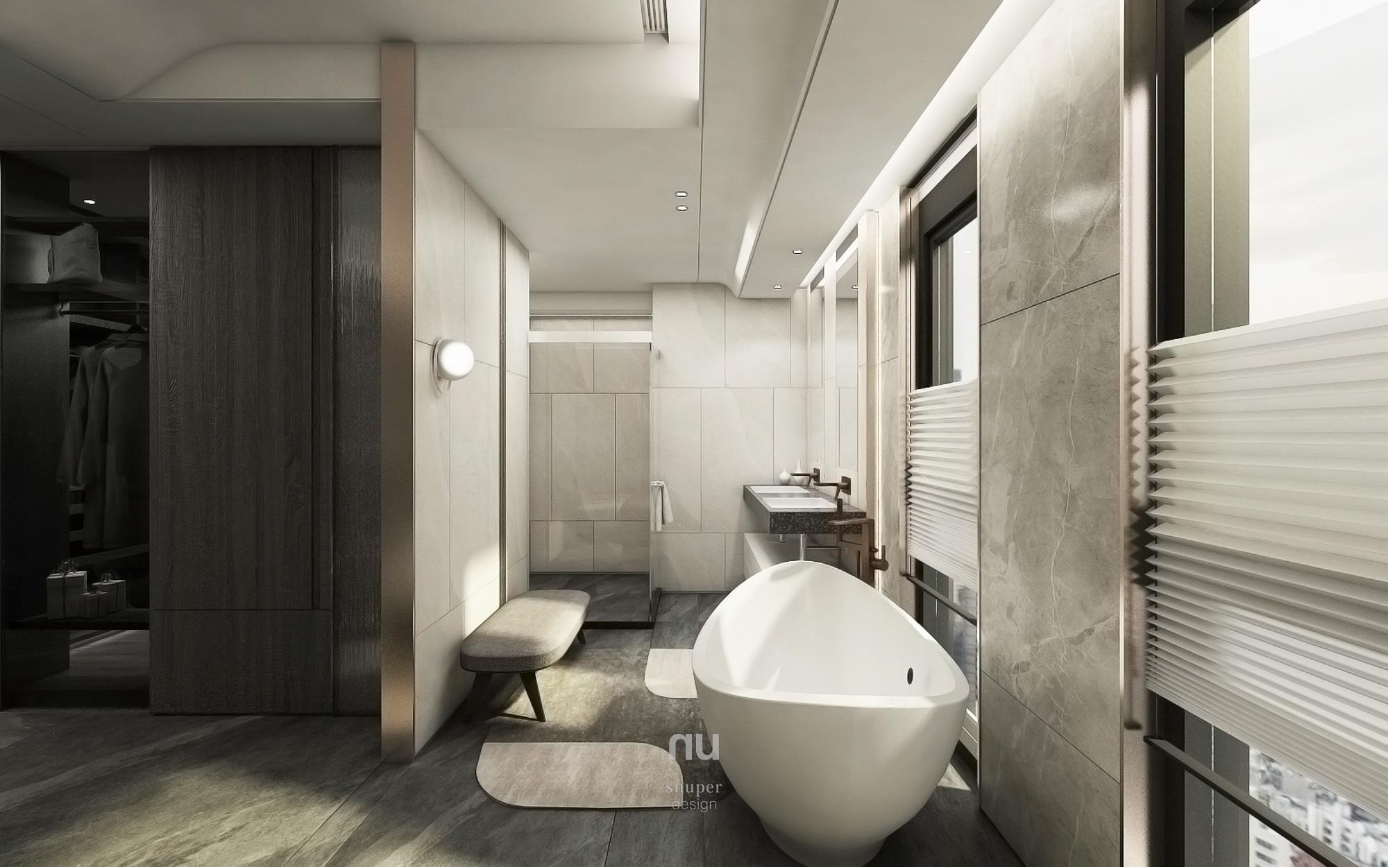 豪宅設計- 主臥套房