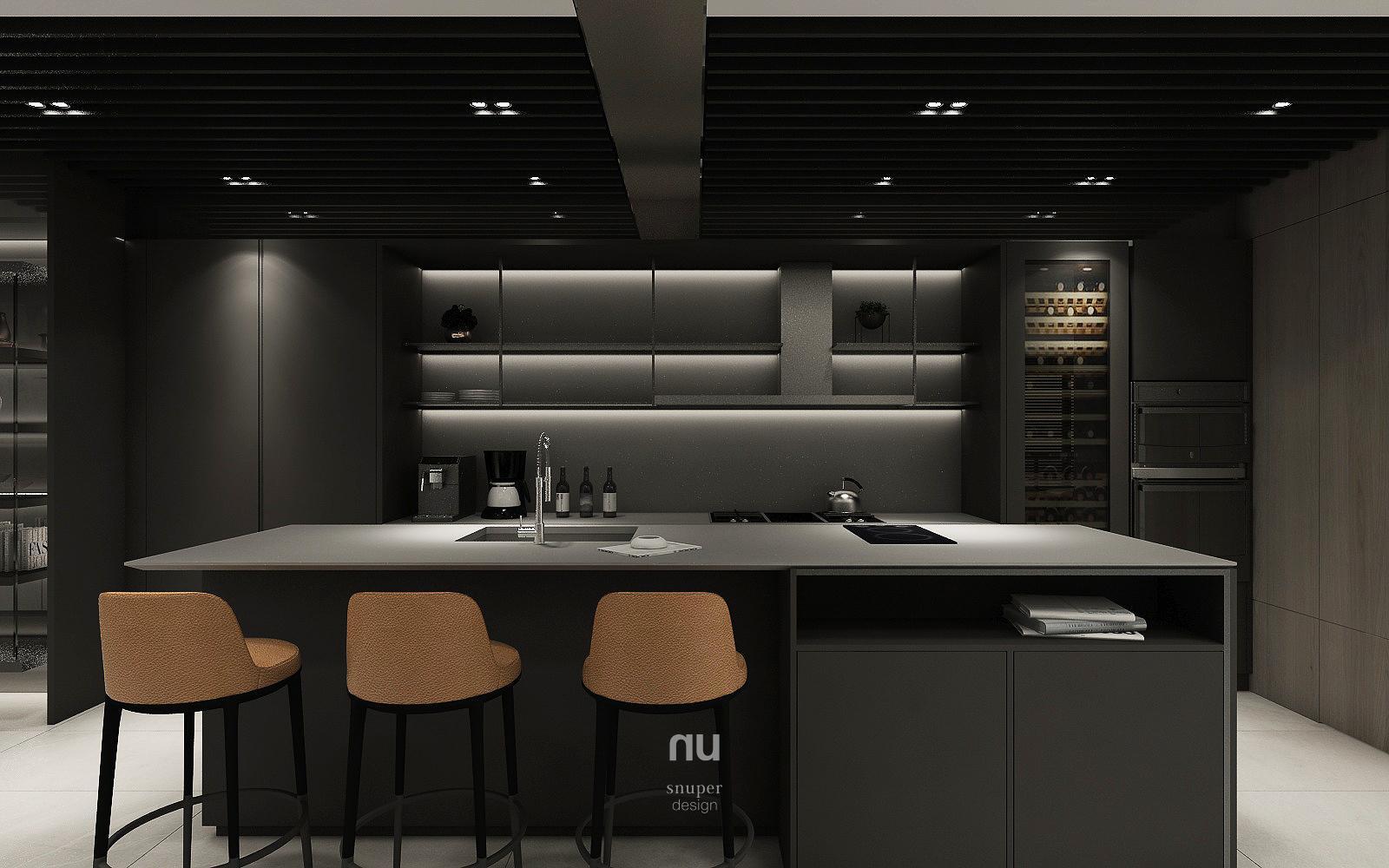 豪宅設計- 輕食區