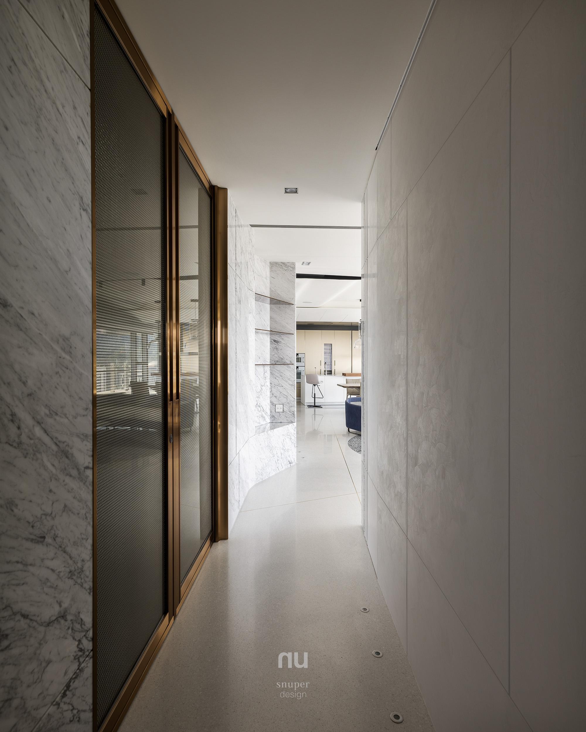 豪宅設計-廊道