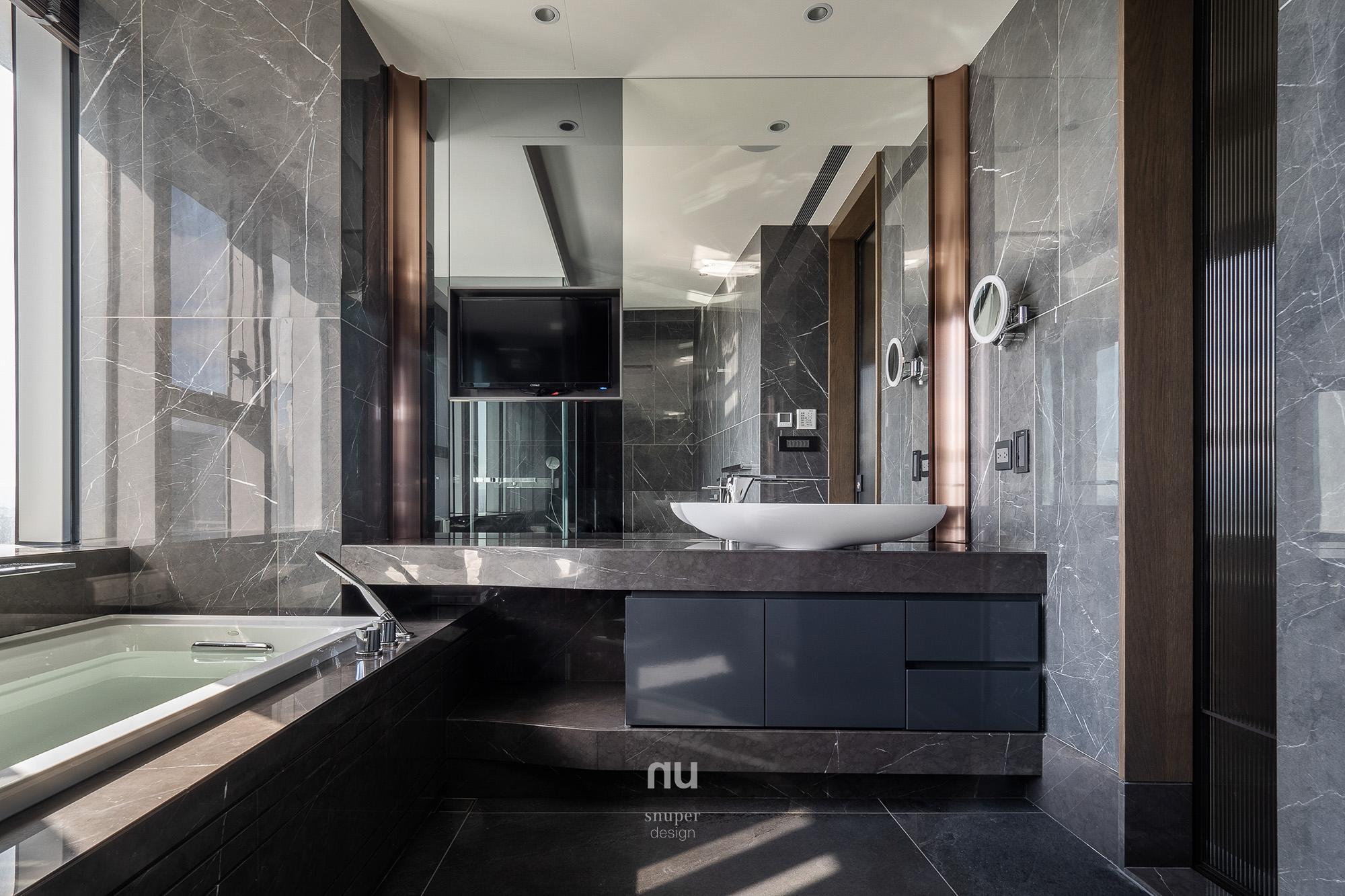 豪宅設計-主衛浴