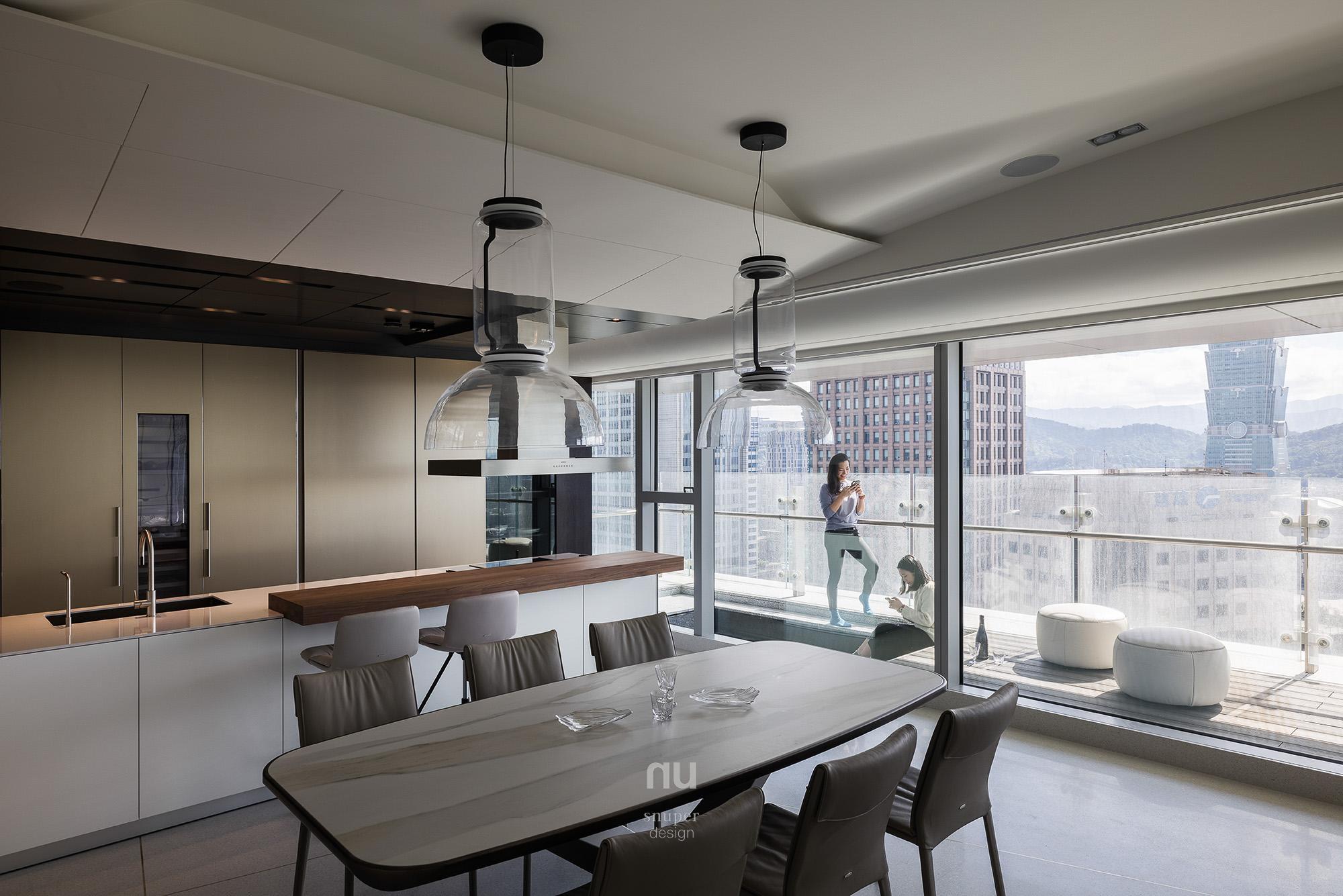 豪宅設計-餐廚區