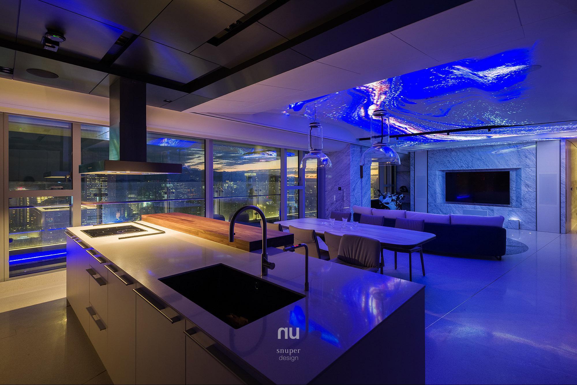 豪宅設計-客廳 餐廳
