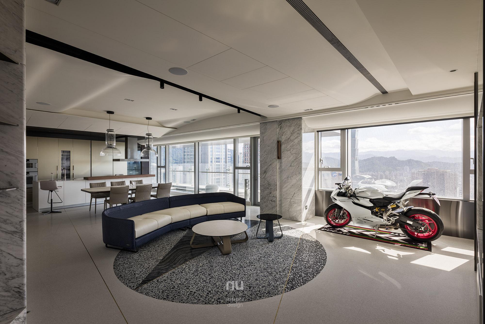 豪宅設計-客廳