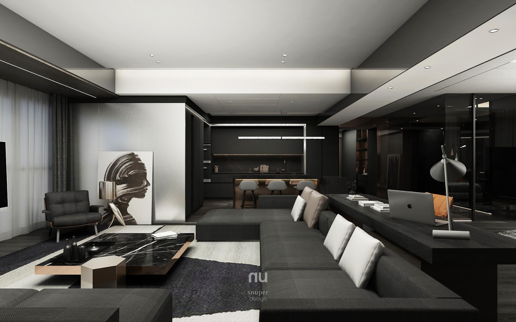 豪宅設計 - 客廳 餐廳