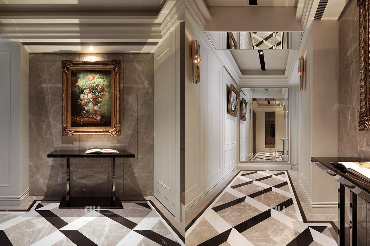 豪宅設計 - 古典印象-   玄關