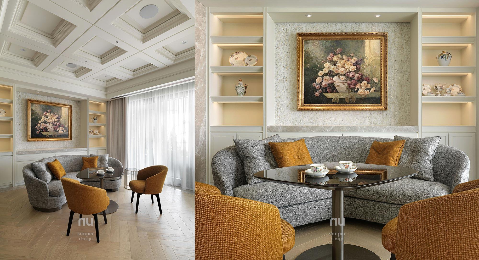 豪宅設計 - 古典印象- 宴會廳