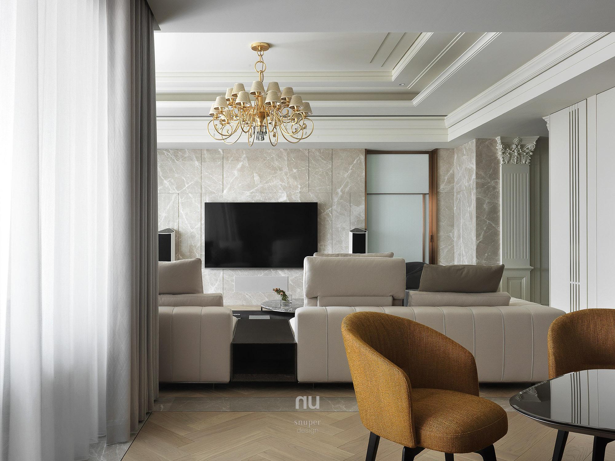 豪宅設計 - 古典印象- 客廳