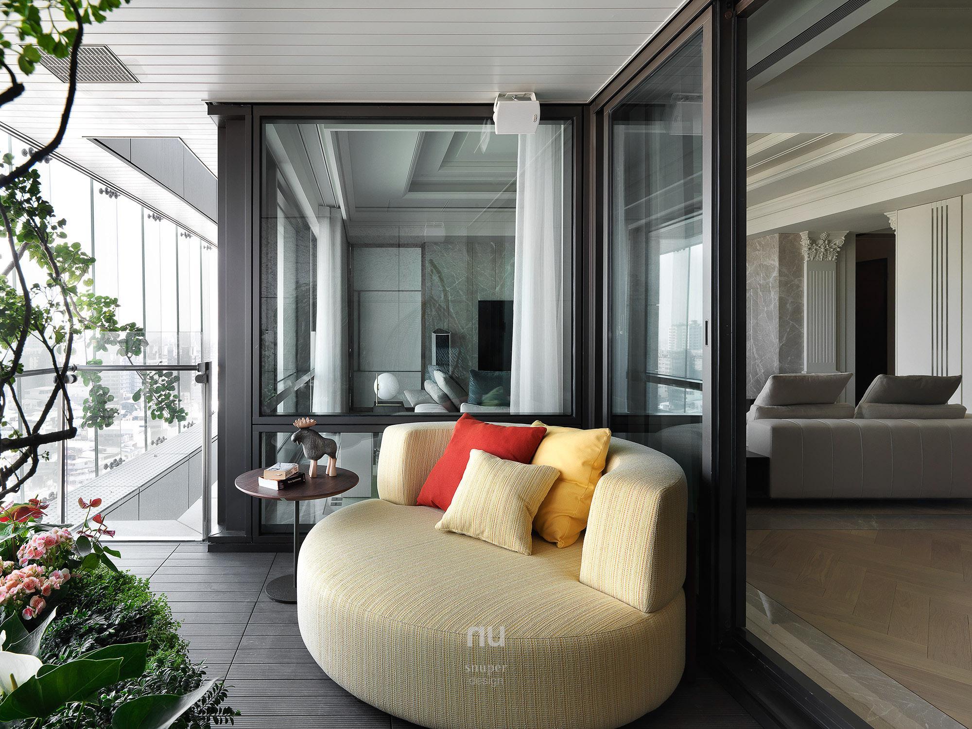 豪宅設計 - 古典印象- 陽台