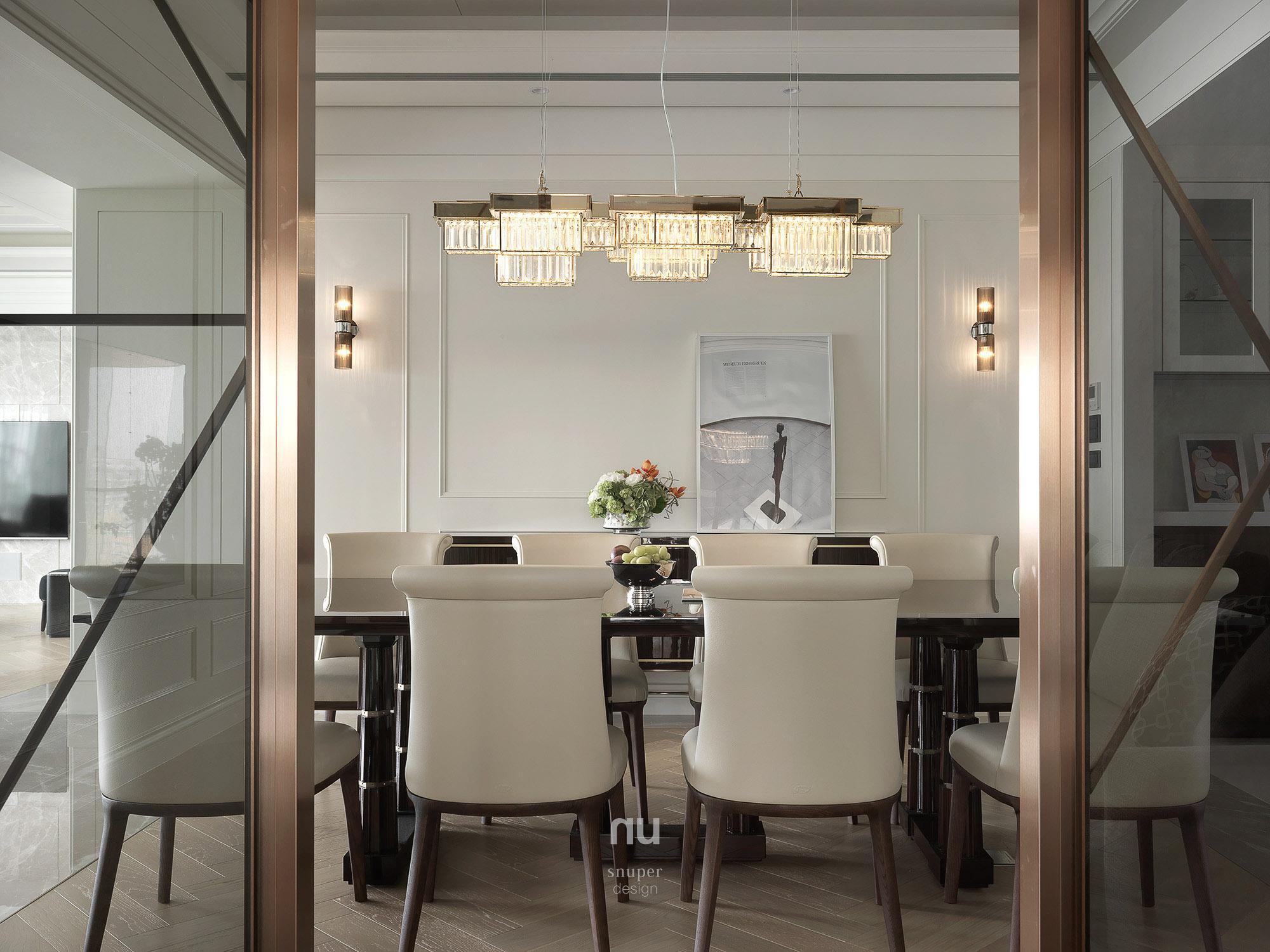 豪宅設計 - 古典印象- 餐廳