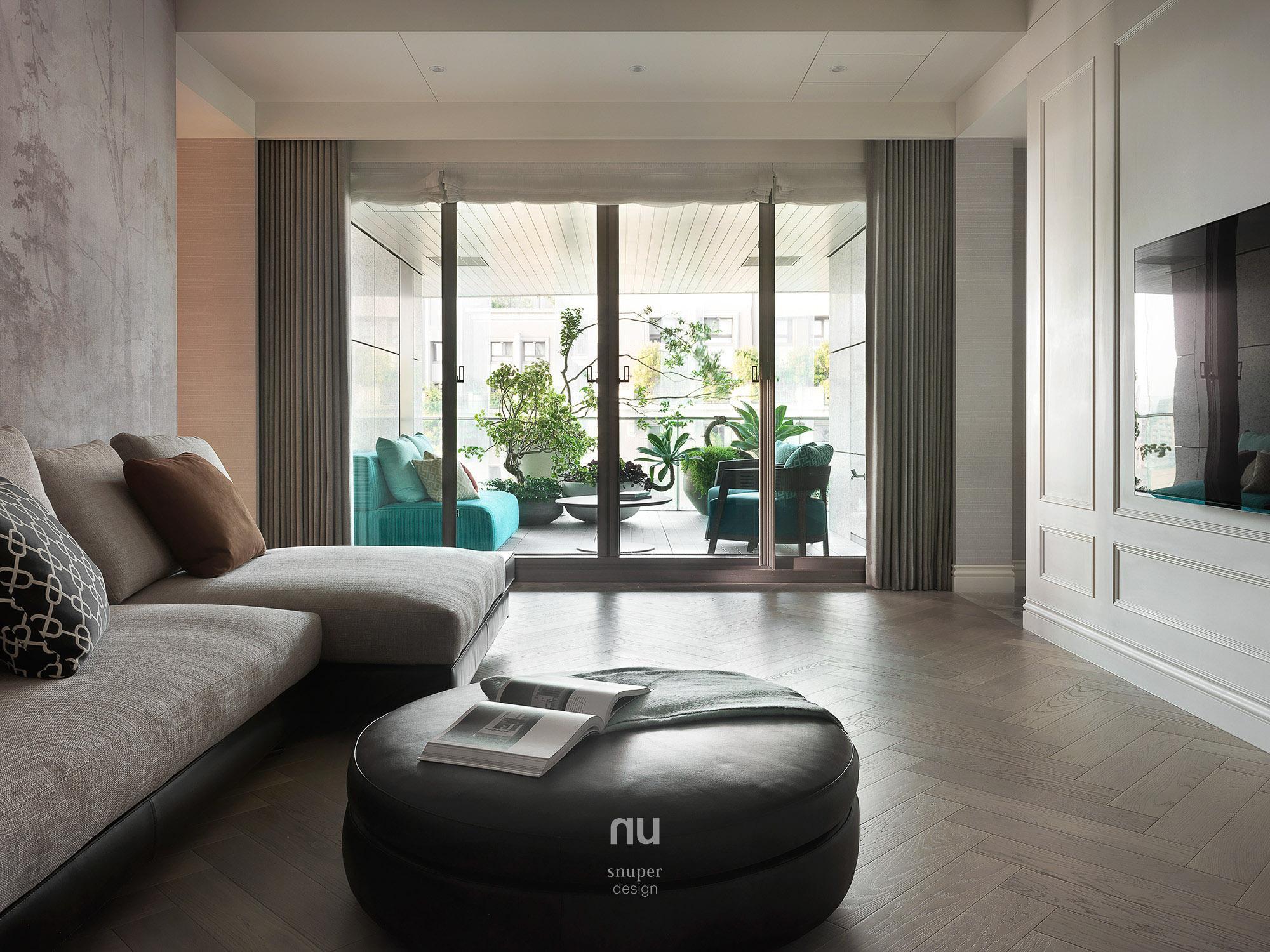 豪宅設計 - 古典印象- 主臥