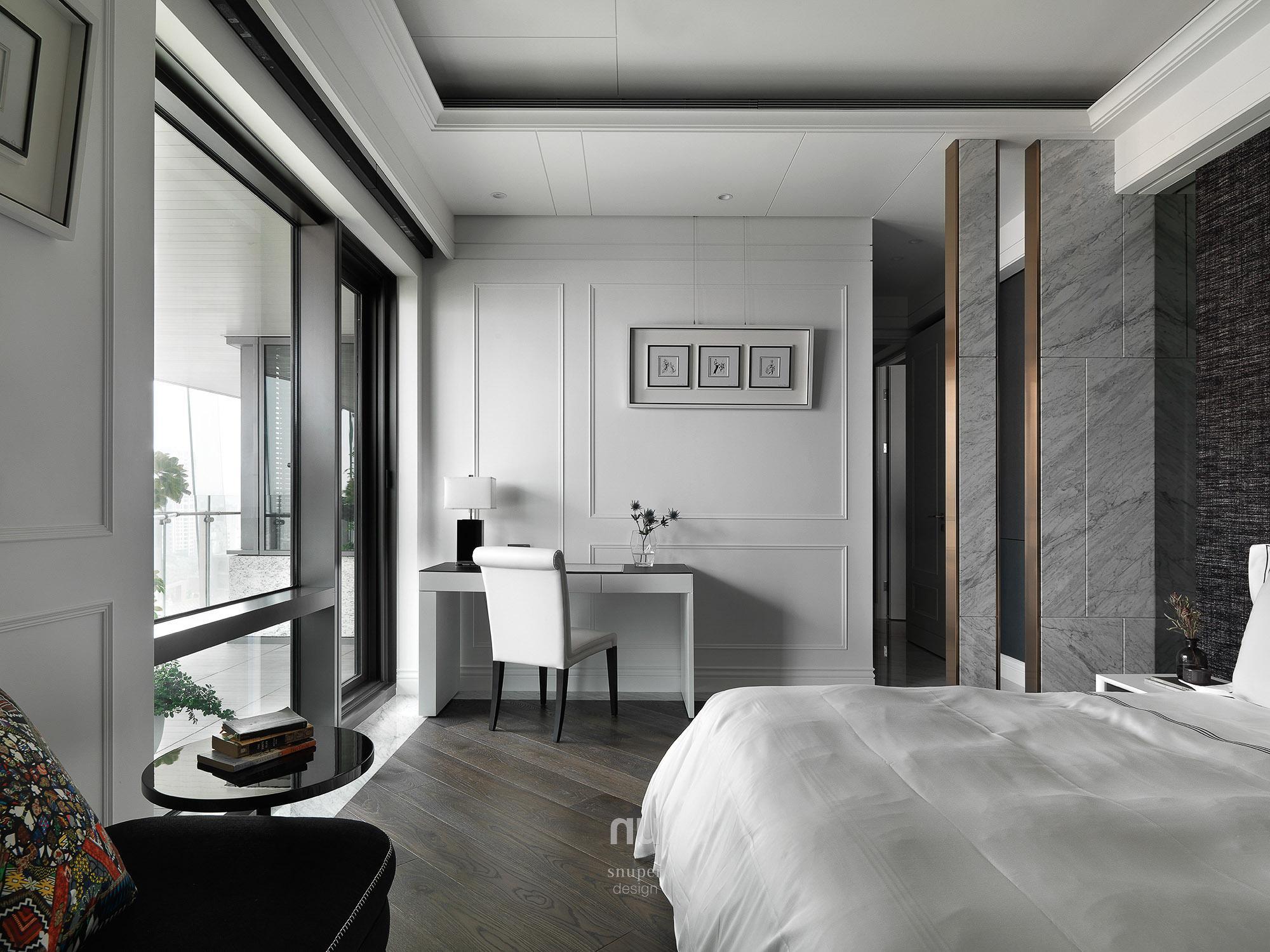 豪宅設計 - 古典印象- 次臥