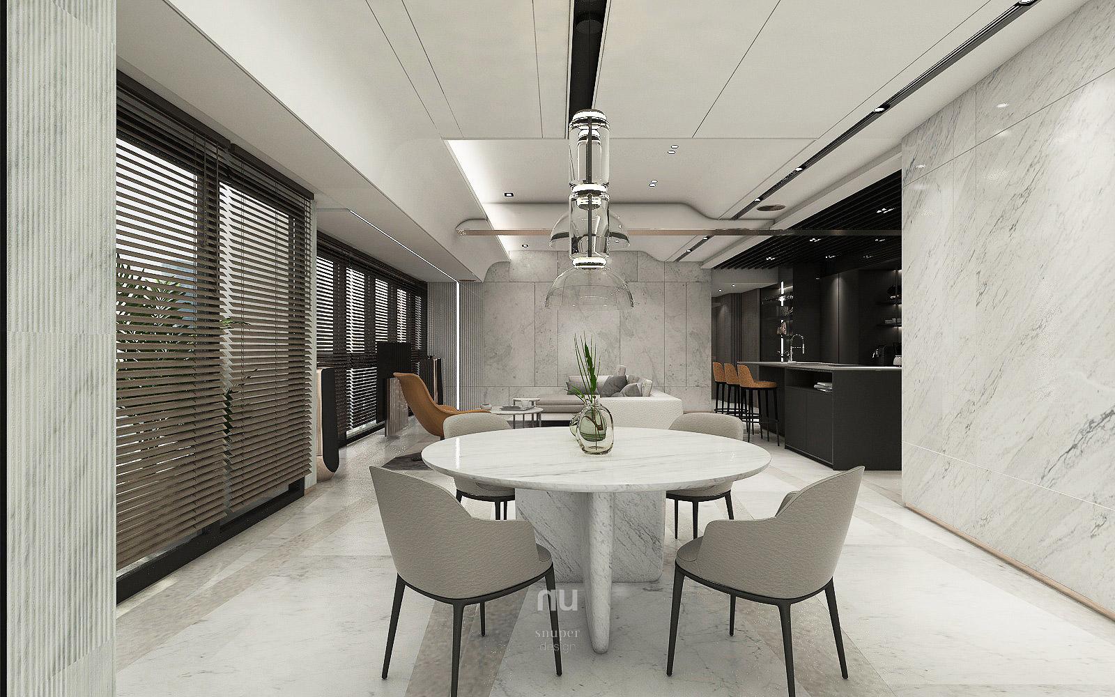豪宅設計- 餐廳 客廳