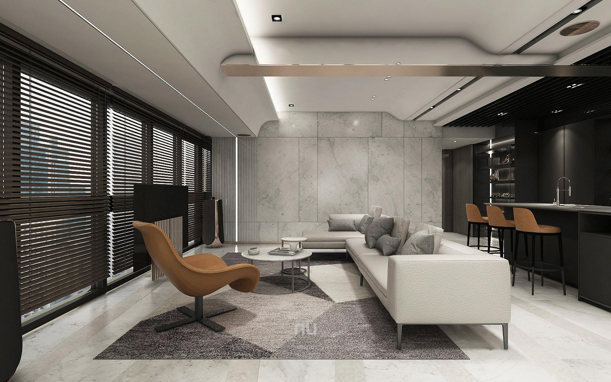 豪宅設計- 客廳