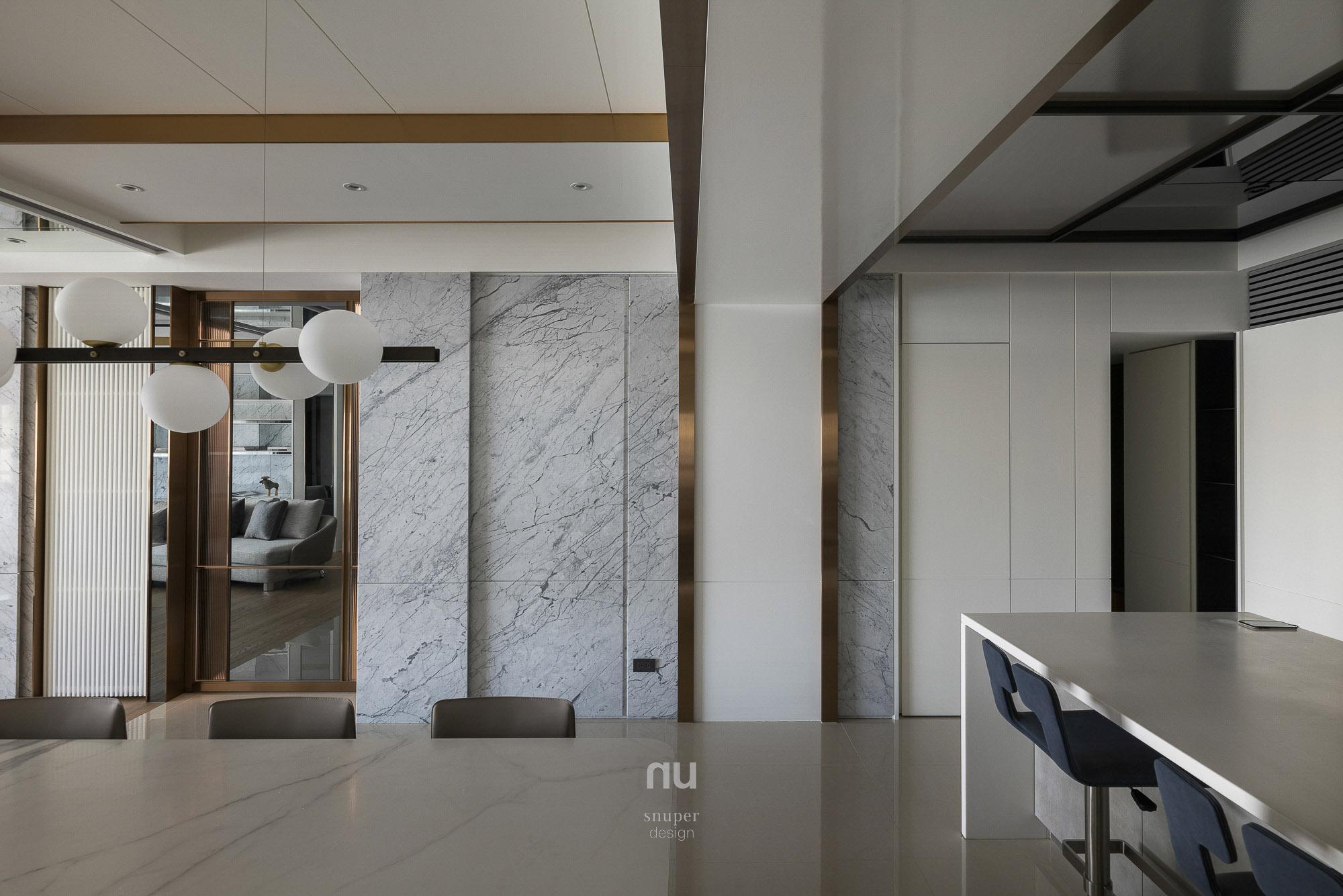 豪宅設計-城市居旅- 餐廳
