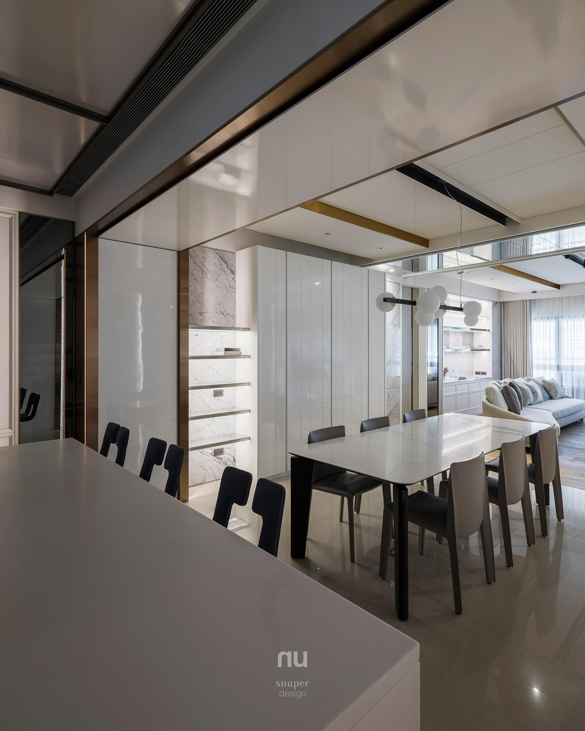 豪宅設計-城市居旅-餐廳