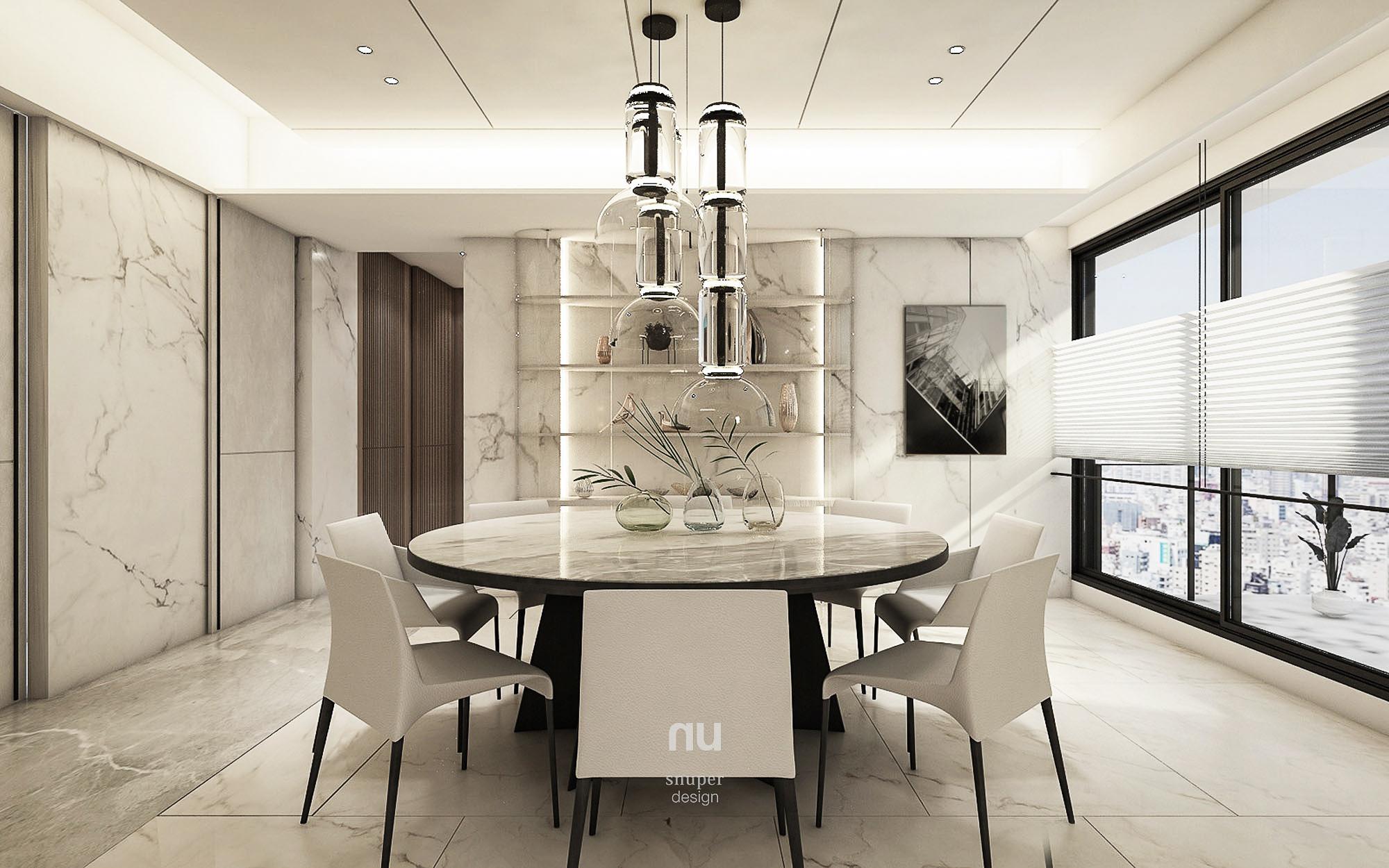 豪宅設計 - 寶輝City Park - 餐廳