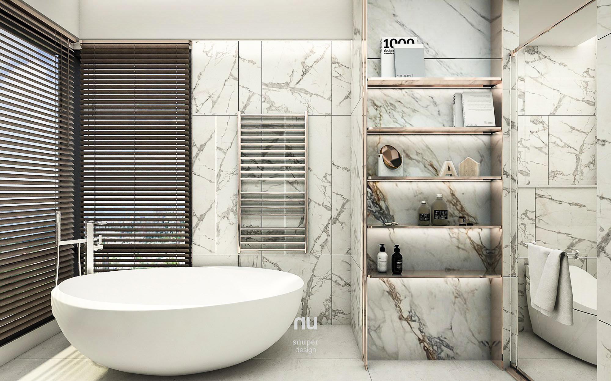 豪宅設計 - 寶輝City Park - 主臥衛浴