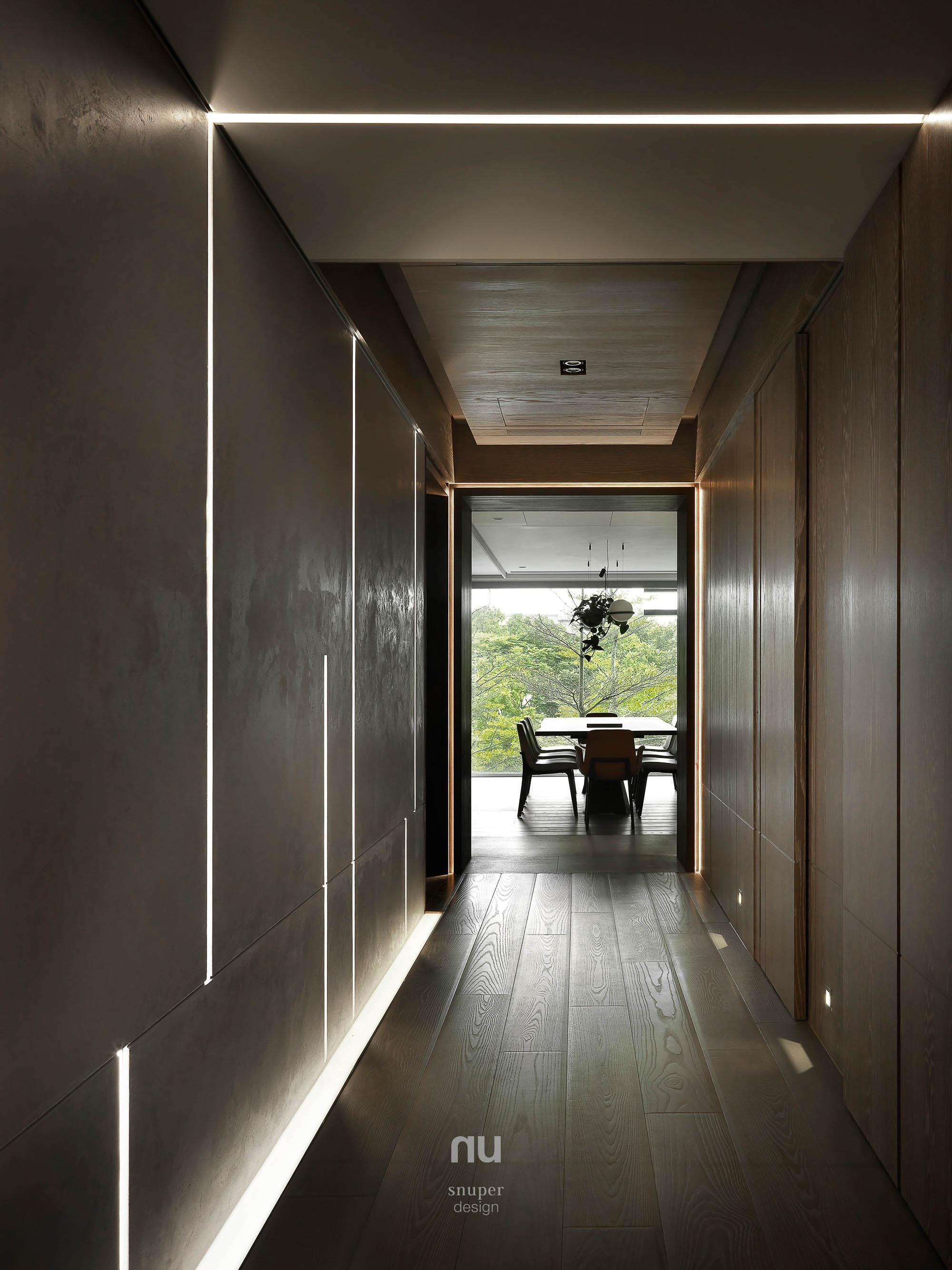 豪宅設計 - 時光廊道 餐廳